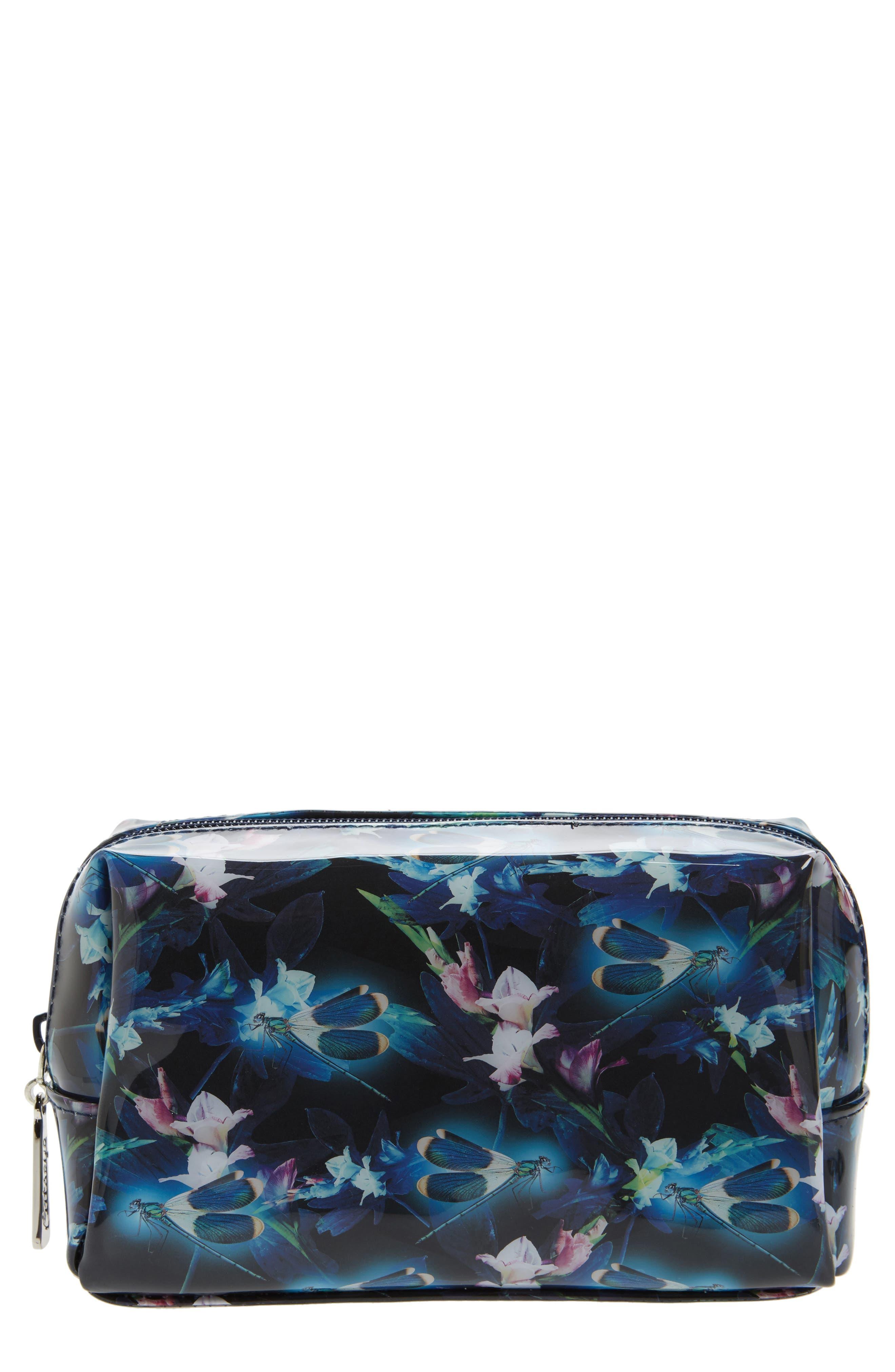 Catseye London Night Blooms Cosmetics Bag
