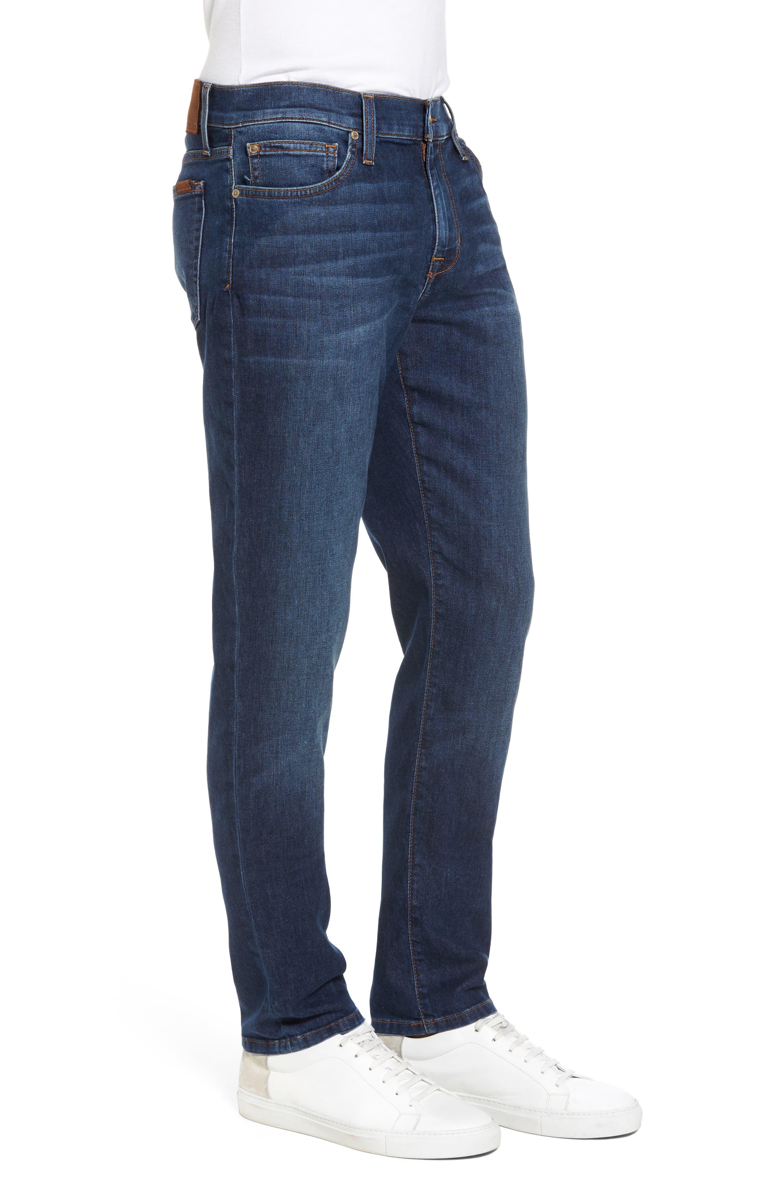 Slim Fit Jeans,                             Alternate thumbnail 3, color,                             Yates