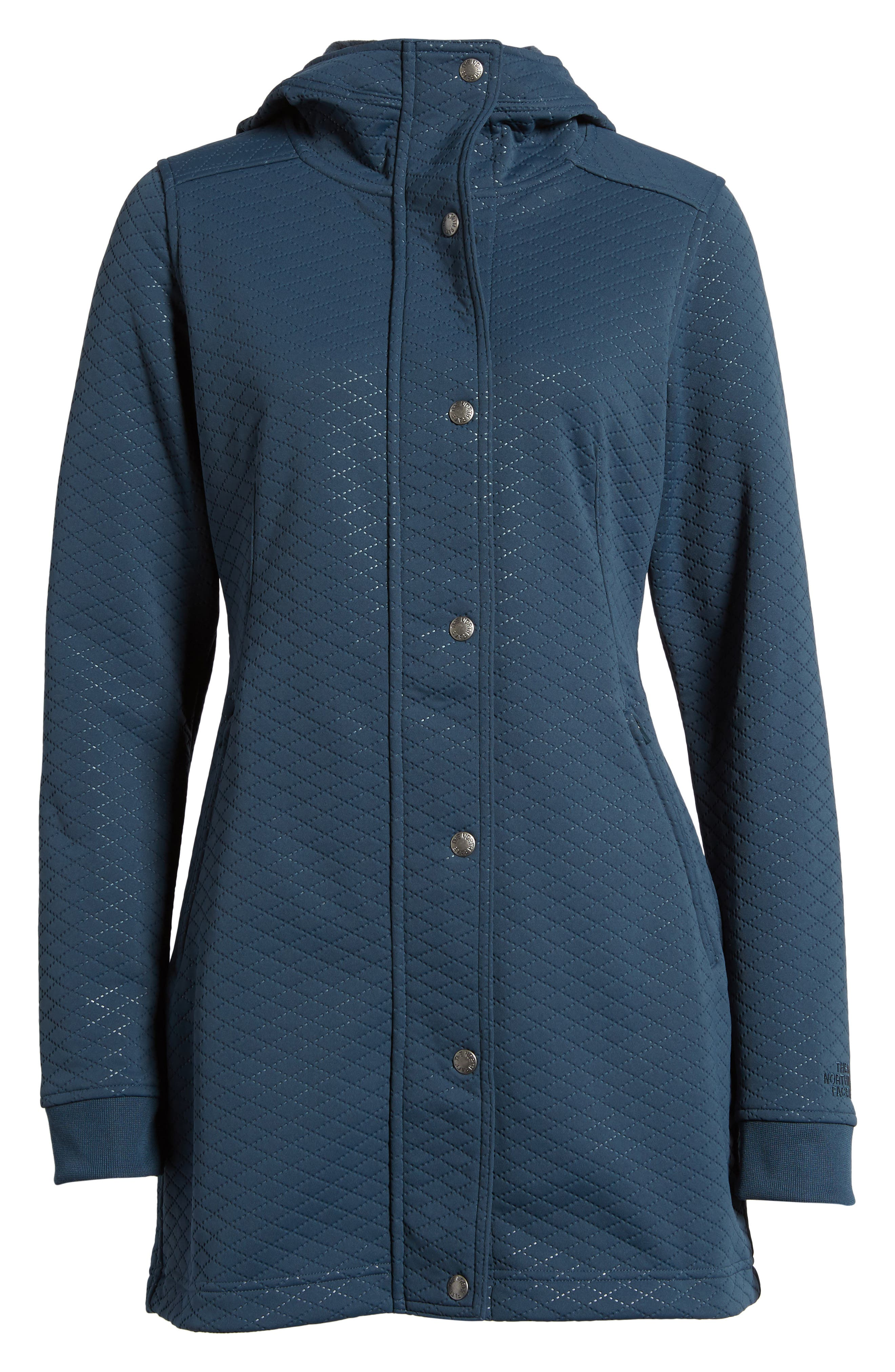 Recover-Up Jacket,                         Main,                         color, Ink Blue