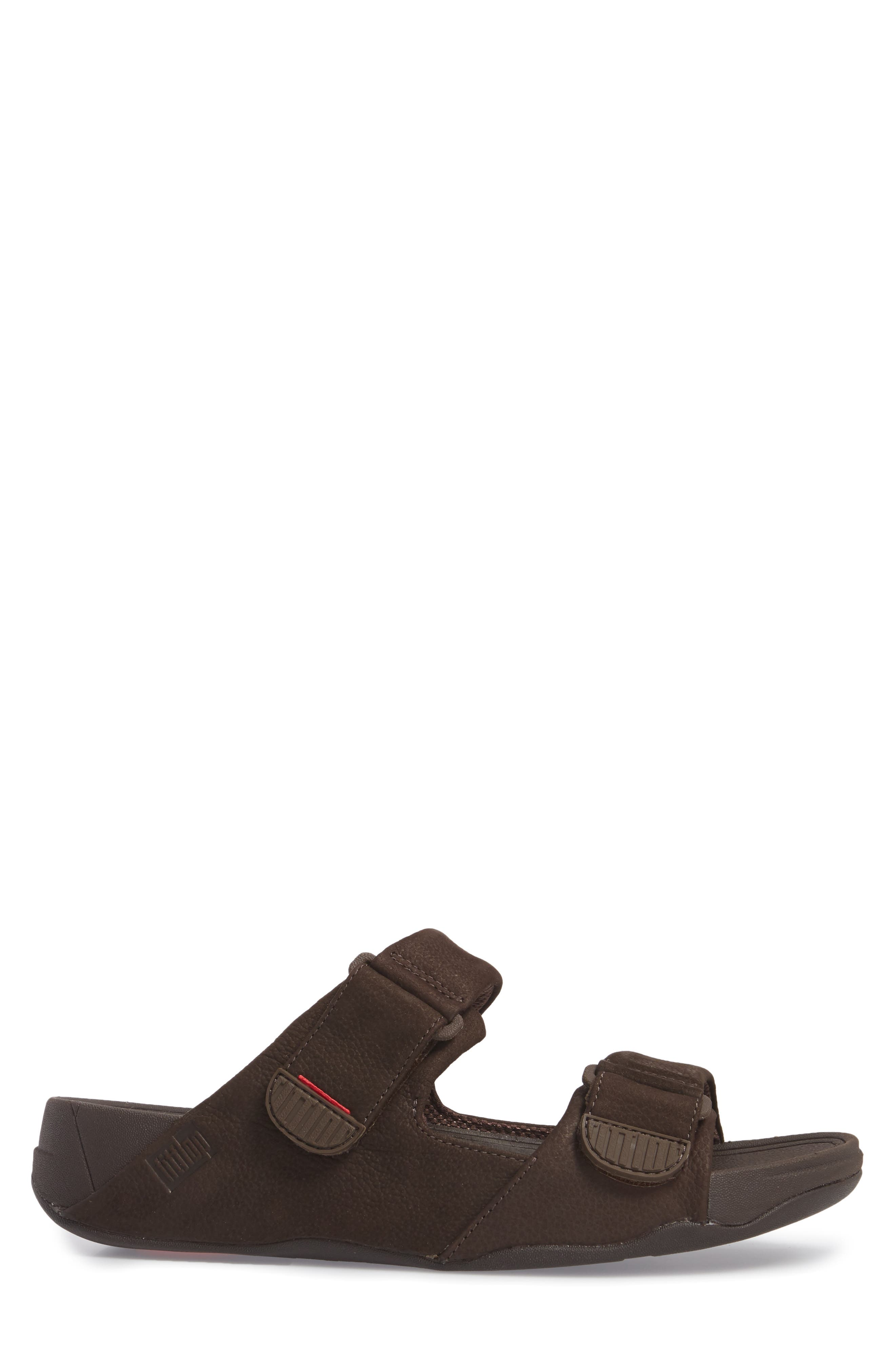 Gogh Sport Slide Sandal,                             Alternate thumbnail 3, color,                             Chocolate Brown