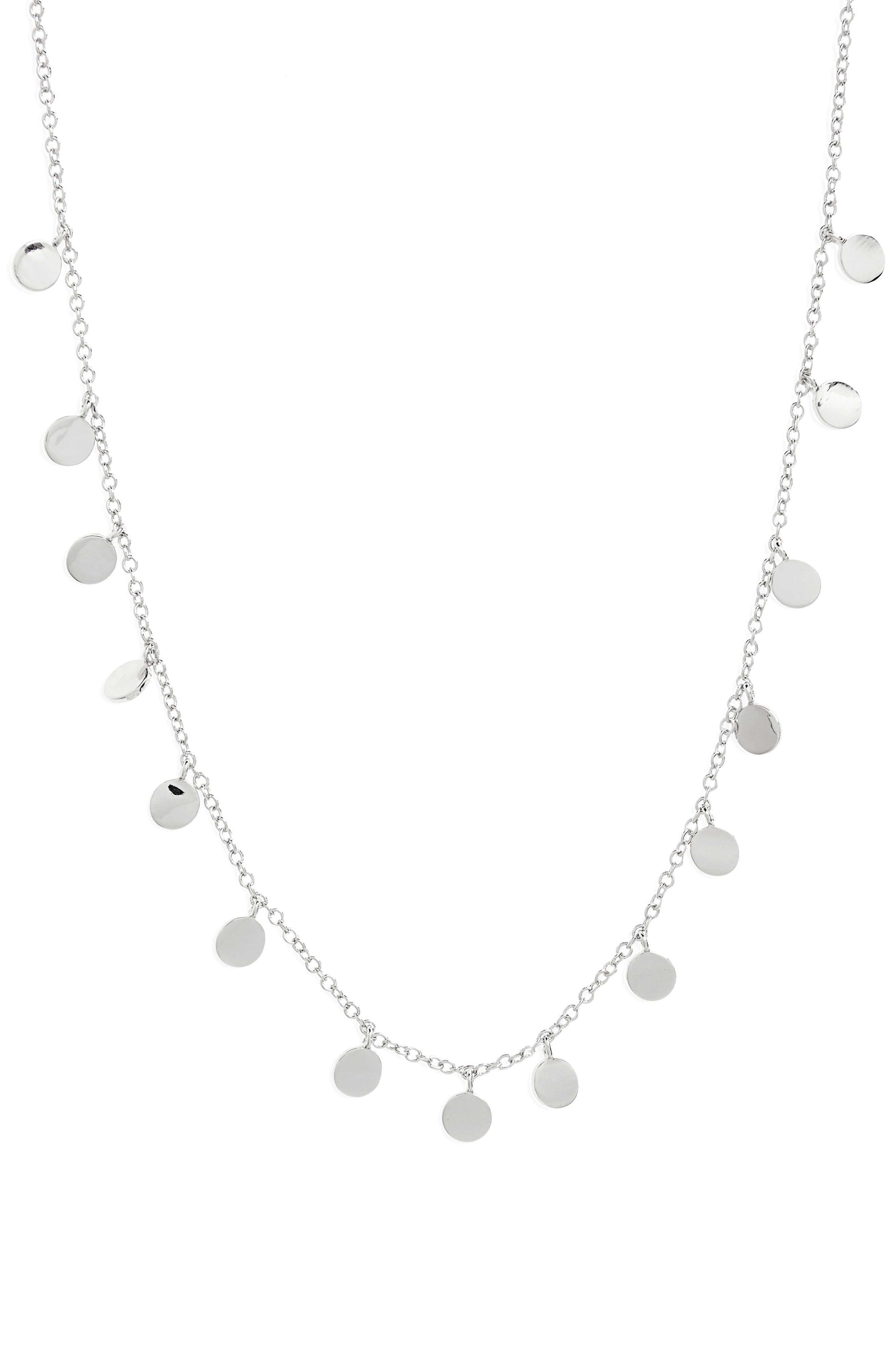 Melanie Auld Mini Disc Collar Necklace