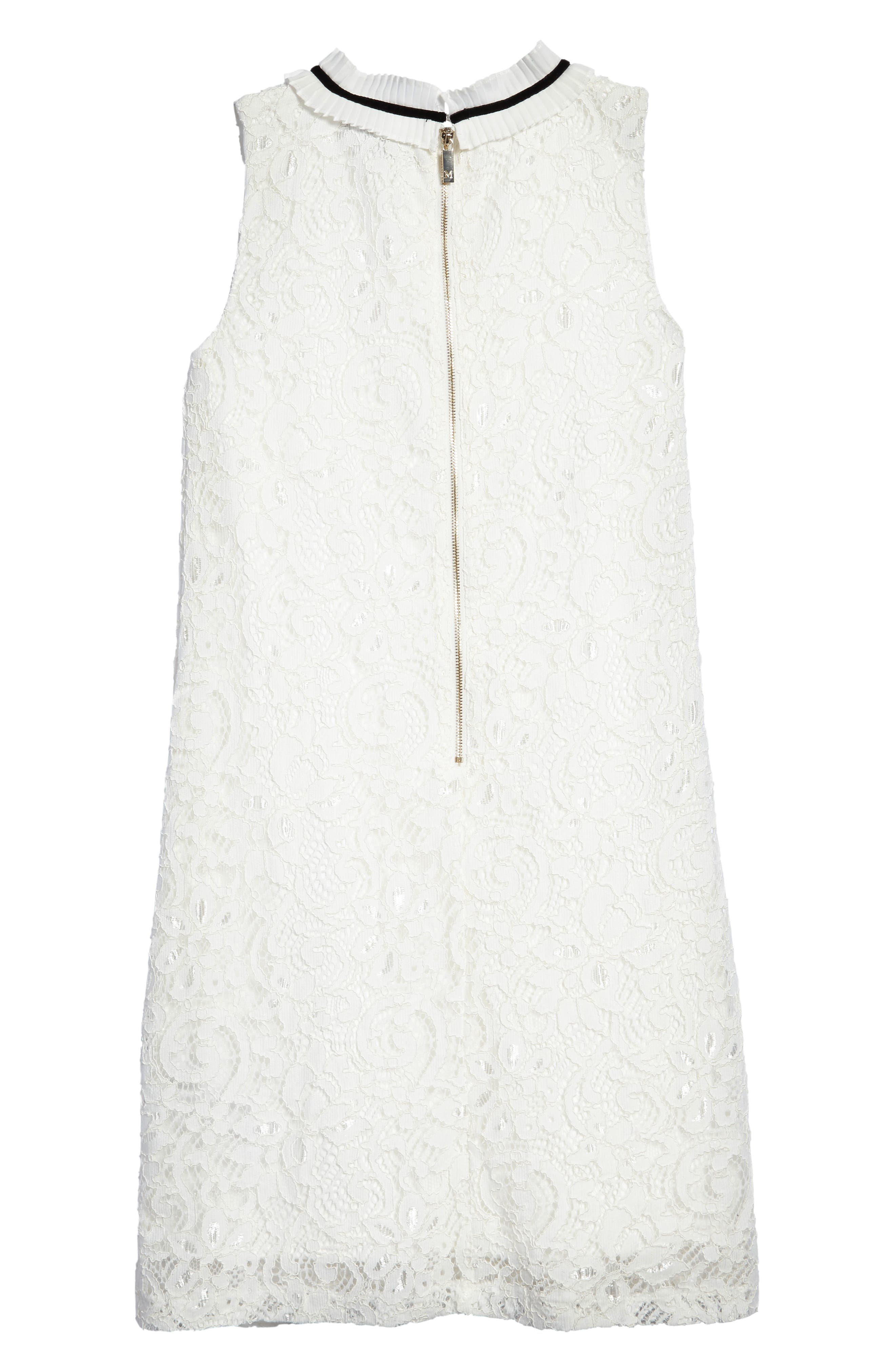 Alternate Image 2  - Marciano Sleeveless Lace Dress (Big Girls)