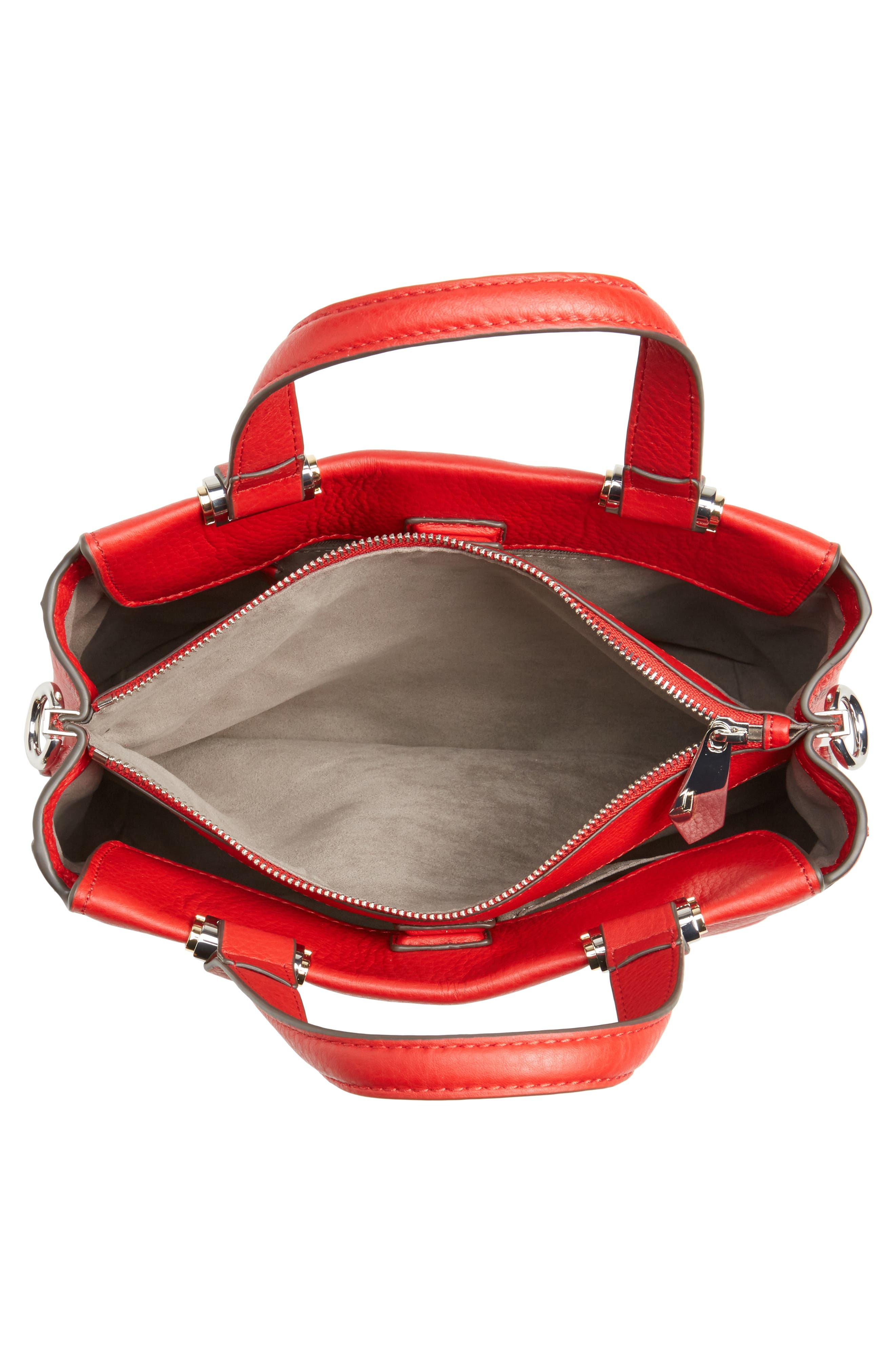 Alternate Image 4  - Vince Camuto Bitty Leather Satchel
