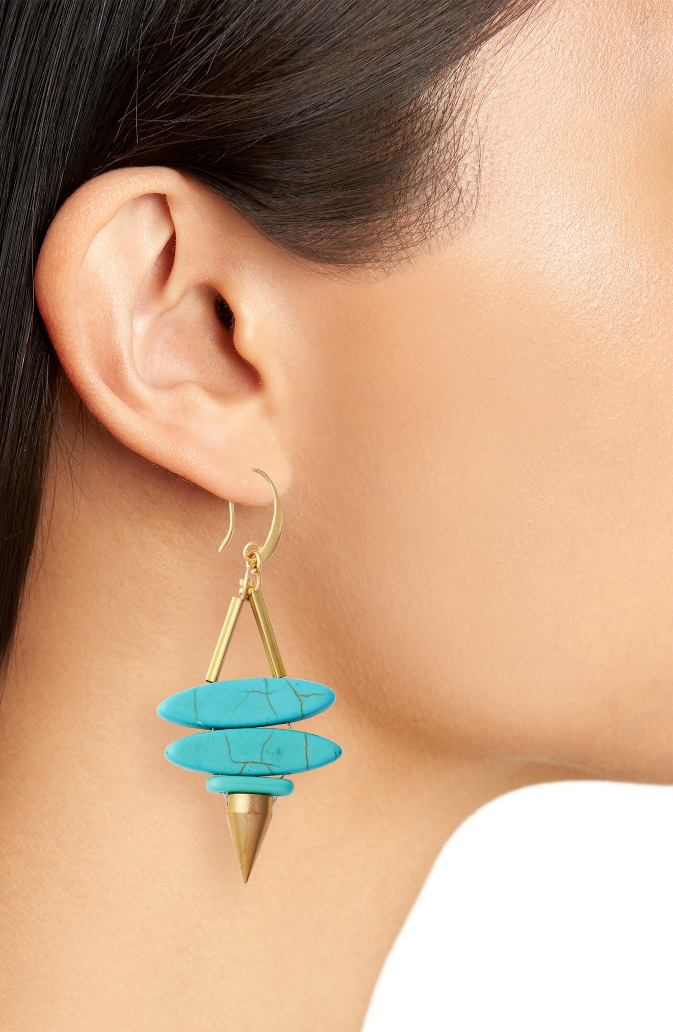 Alternate Image 2  - David Aubrey Rylee Drop Earrings