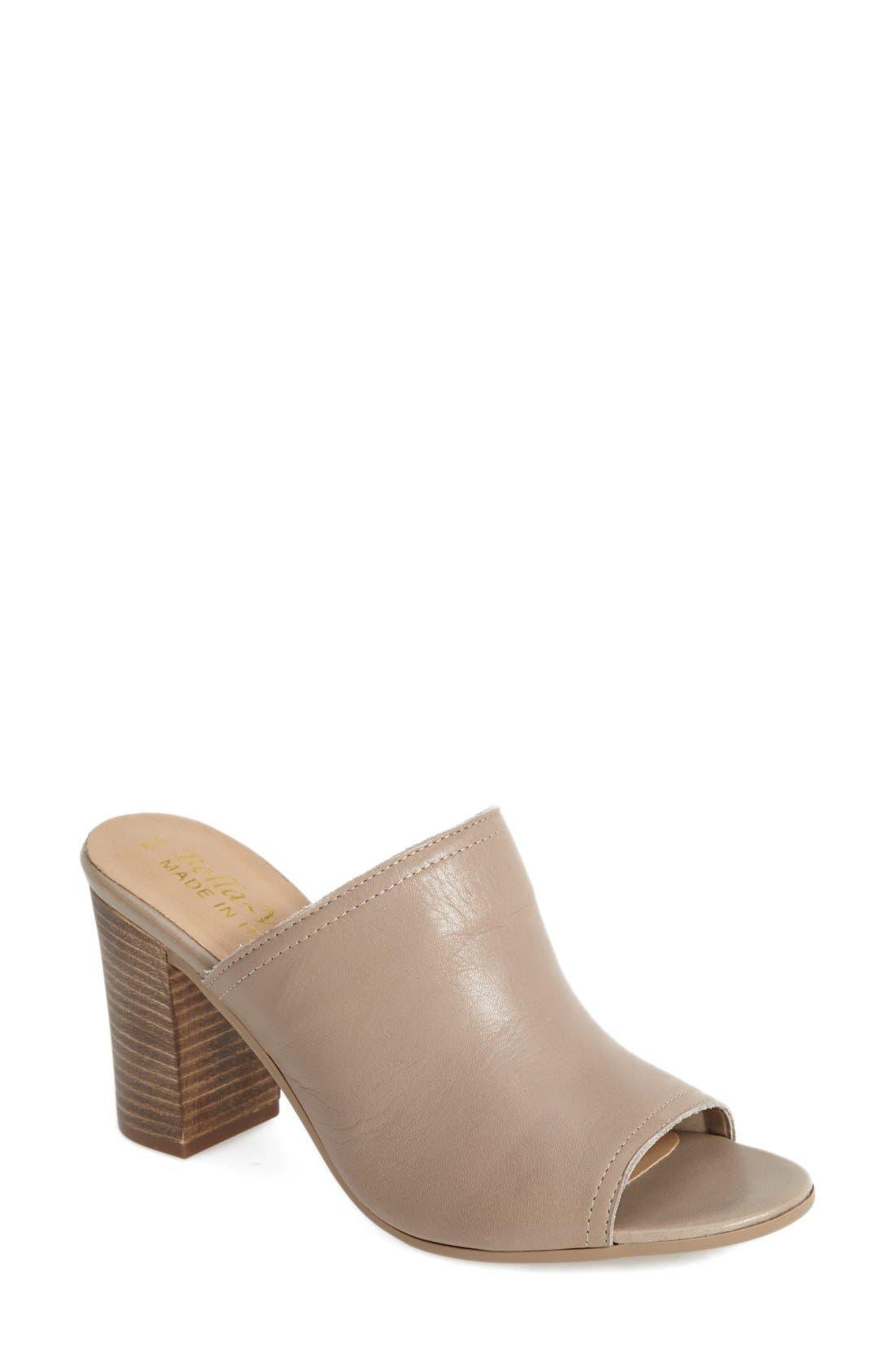 Alternate Image 1 Selected - Bella Vita 'Arno' Leather Mule (Women)