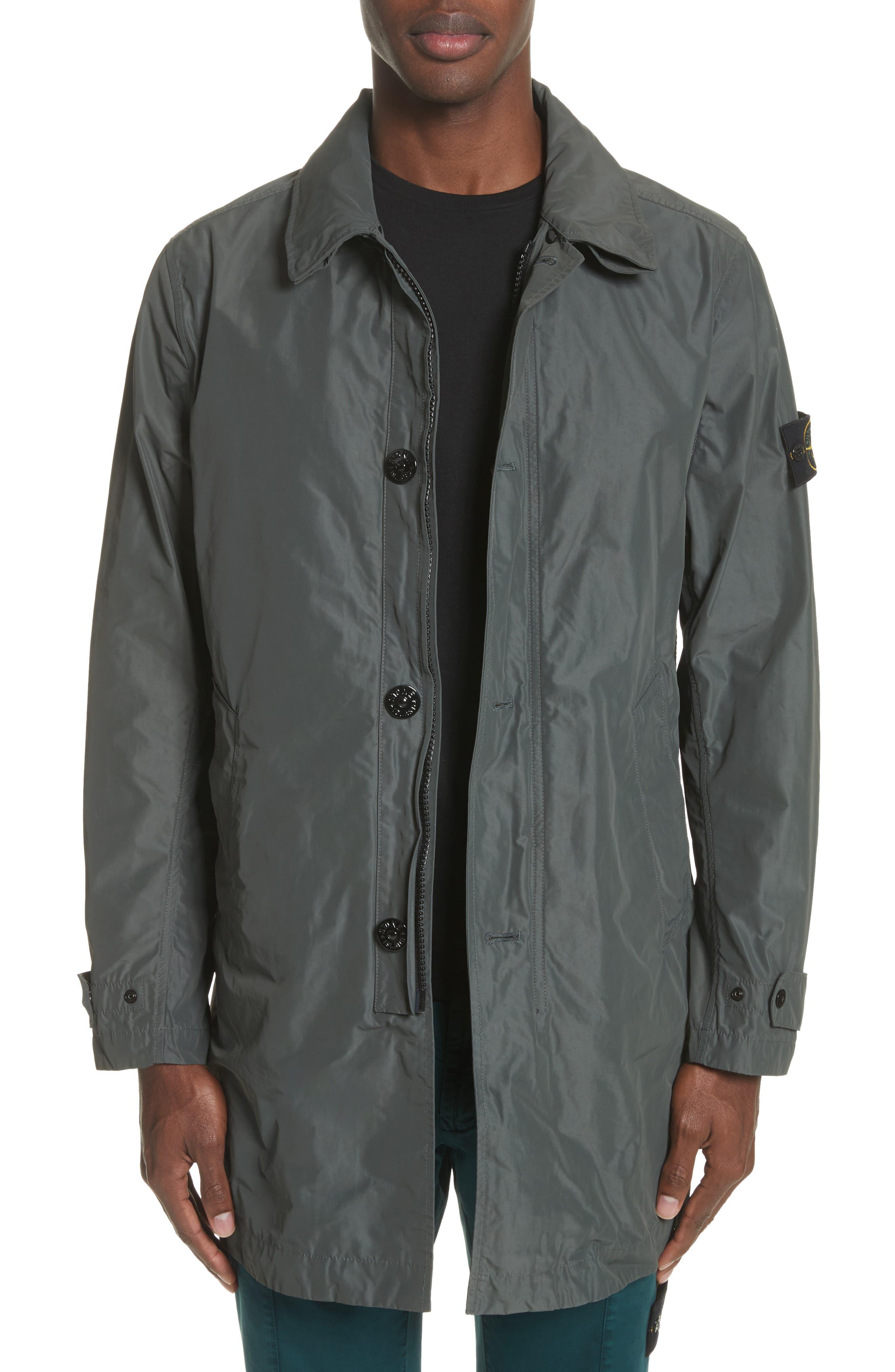 Trench Coat,                             Main thumbnail 1, color,                             Grey