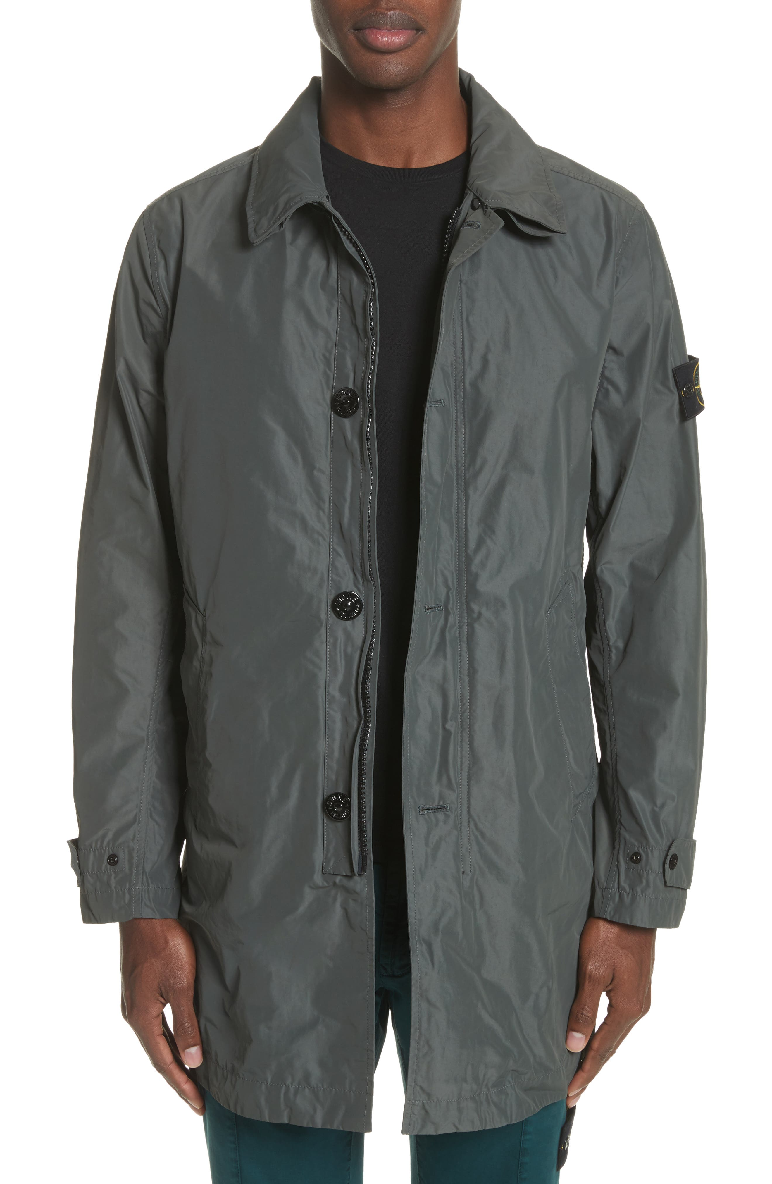 Trench Coat,                         Main,                         color, Grey