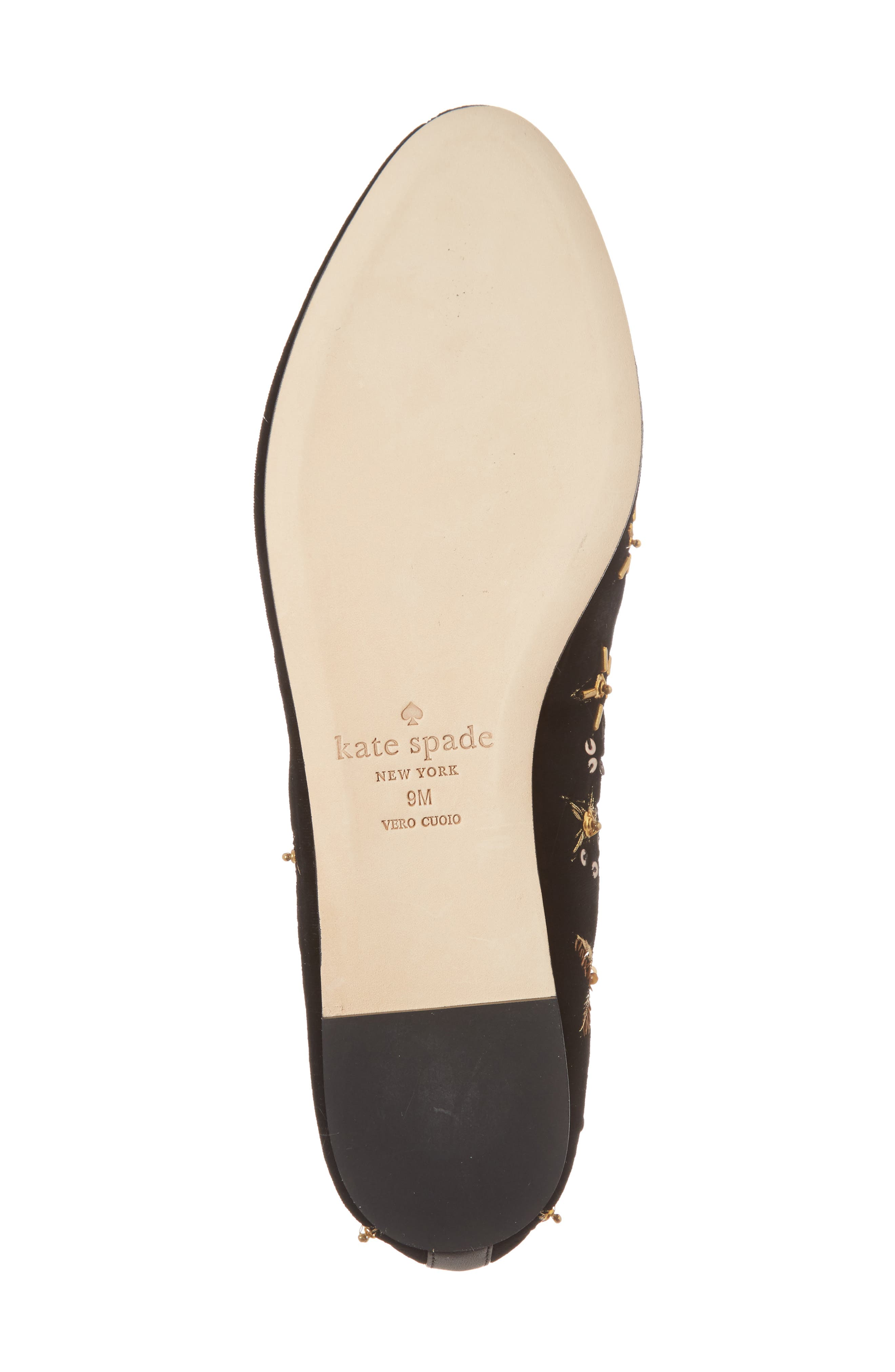 stelli embellished loafer,                             Alternate thumbnail 6, color,                             Black Velvet