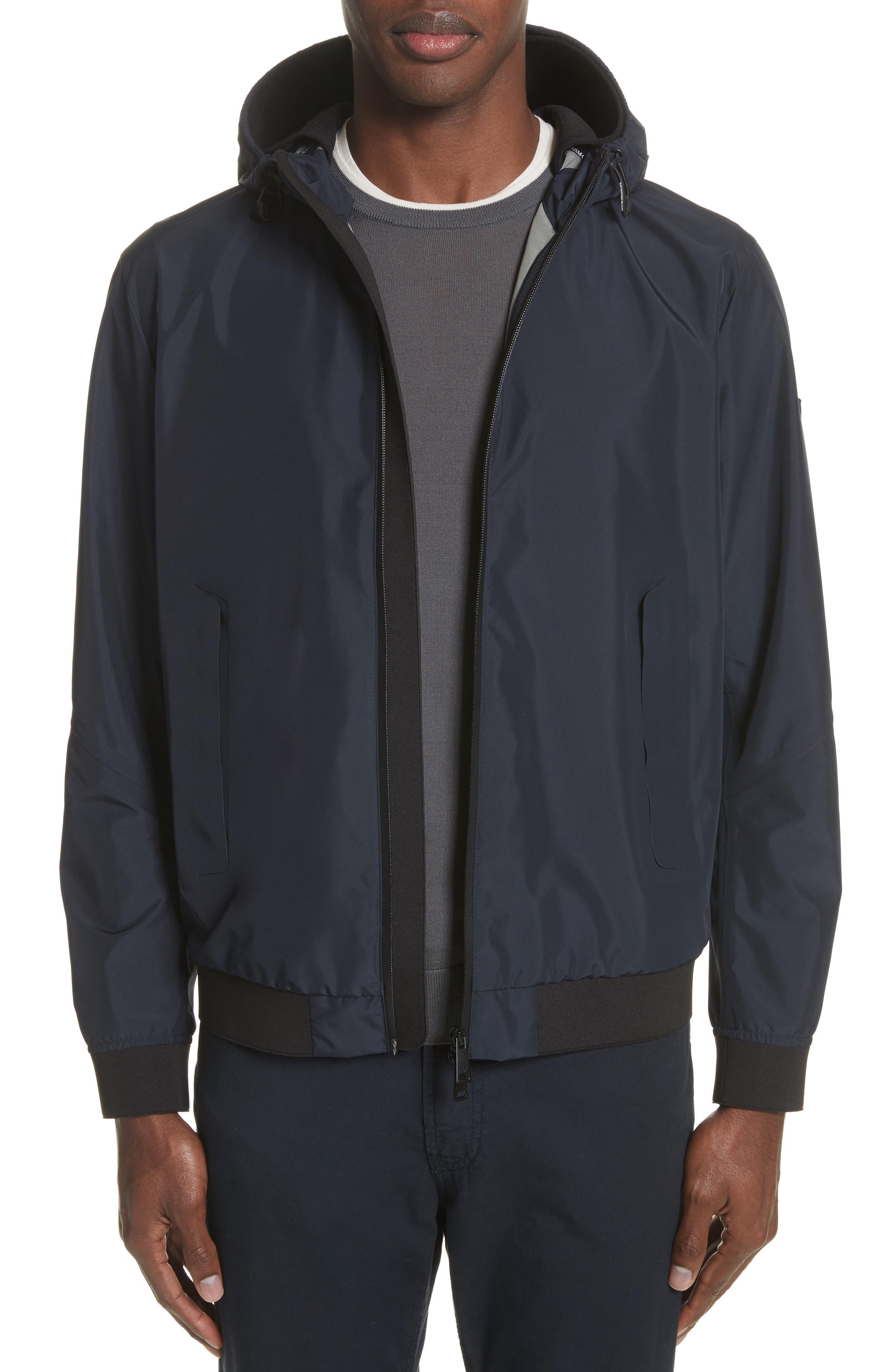 Emporio Armani Regular Fit Hooded Jacket