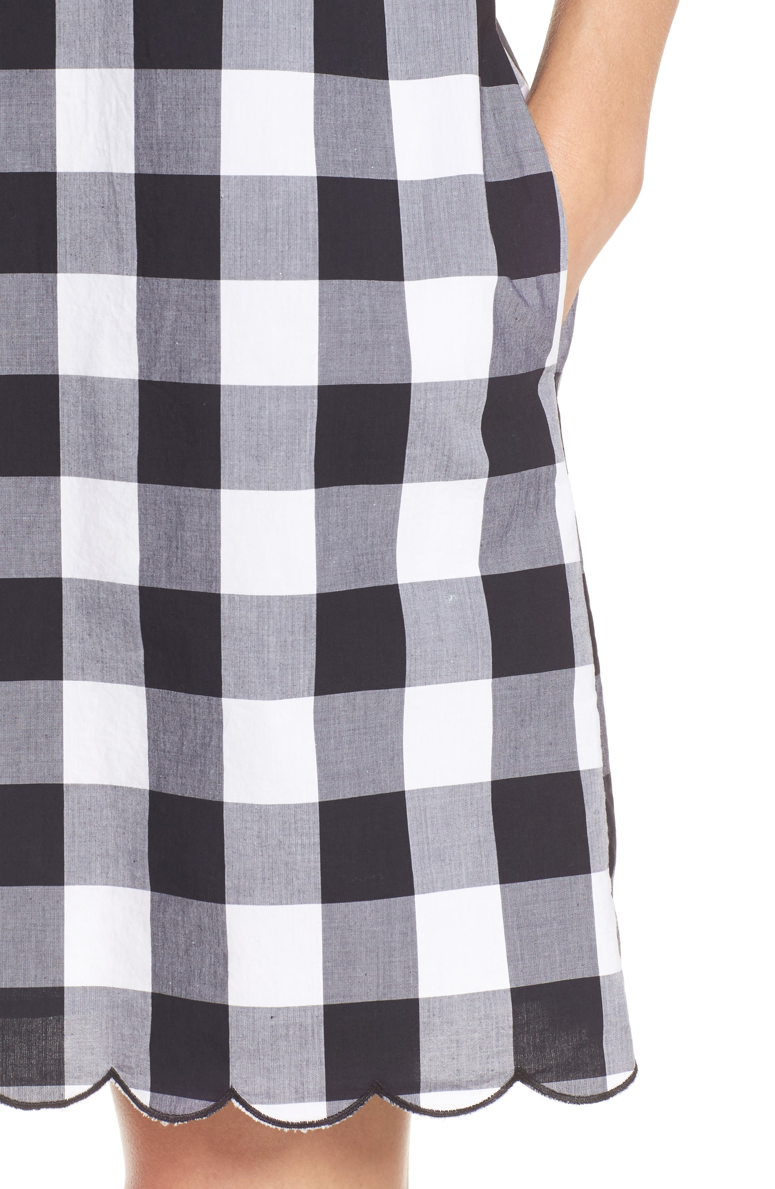 Alternate Image 4  - Tommy Bahama Gingham Gables Shift Dress