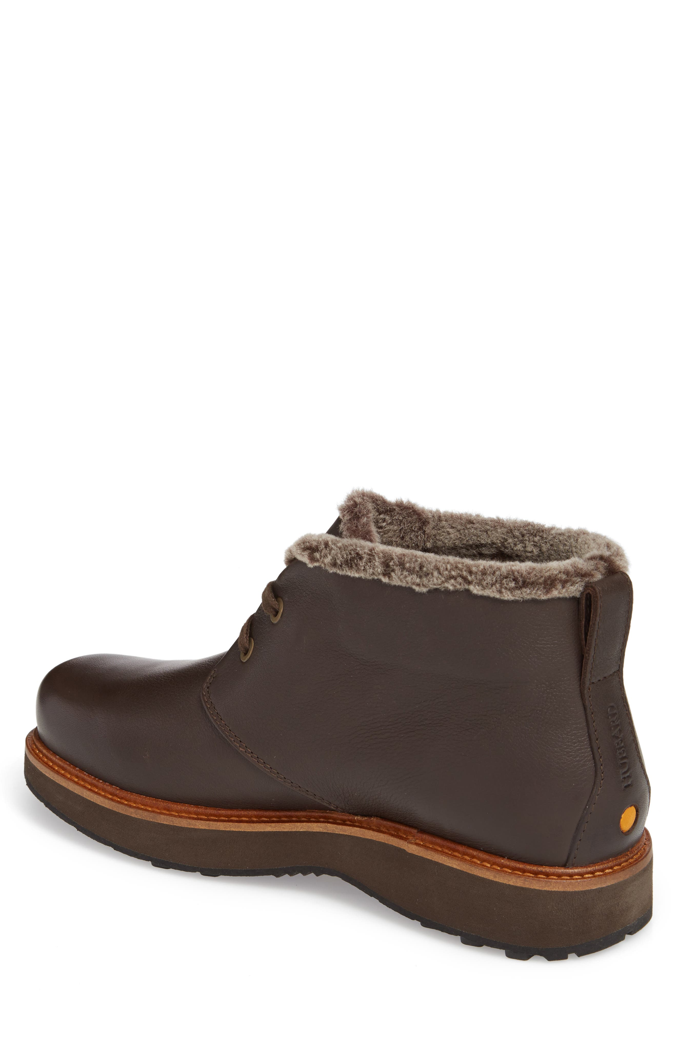 Winter's Day Waterproof Gore-Tex<sup>®</sup> Genuine Shearling Lined Chukka Boot,                             Alternate thumbnail 2, color,                             Espresso Brown Leather