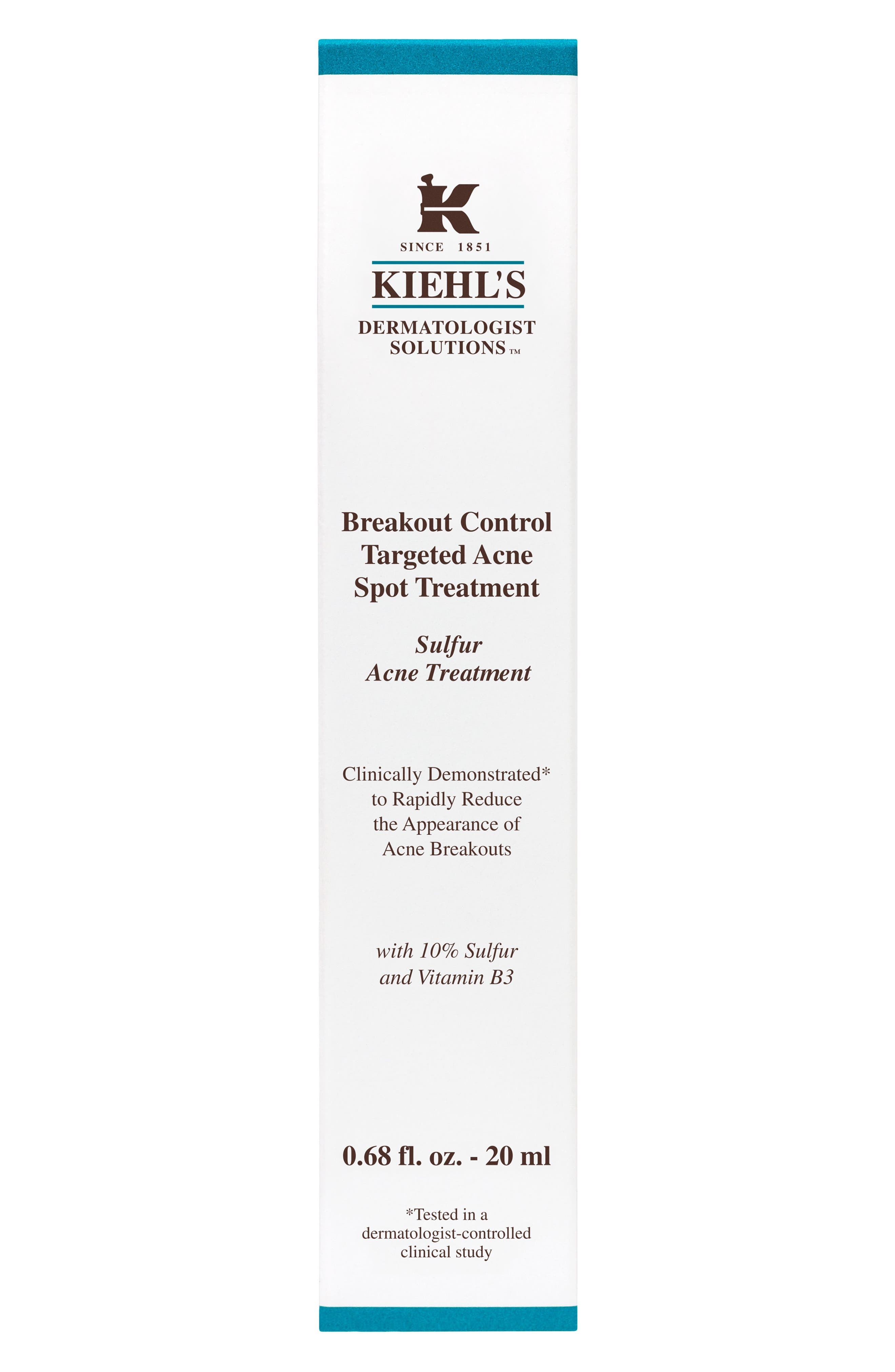 Alternate Image 2  - Kiehl's Since 1851 Breakout Control Targeted Acne Spot Treatment