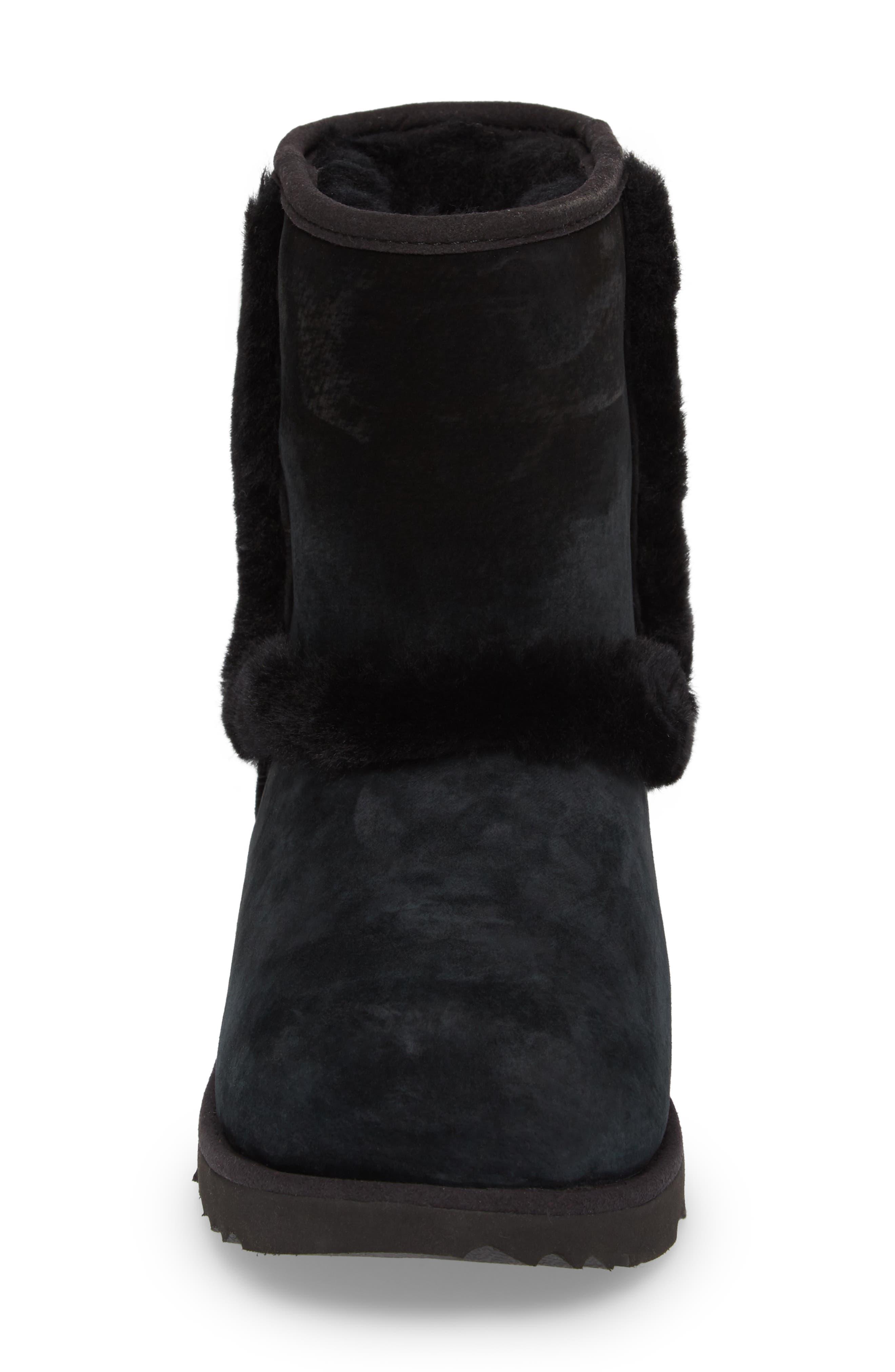 Hadley II Waterproof Boot,                             Alternate thumbnail 4, color,                             Black