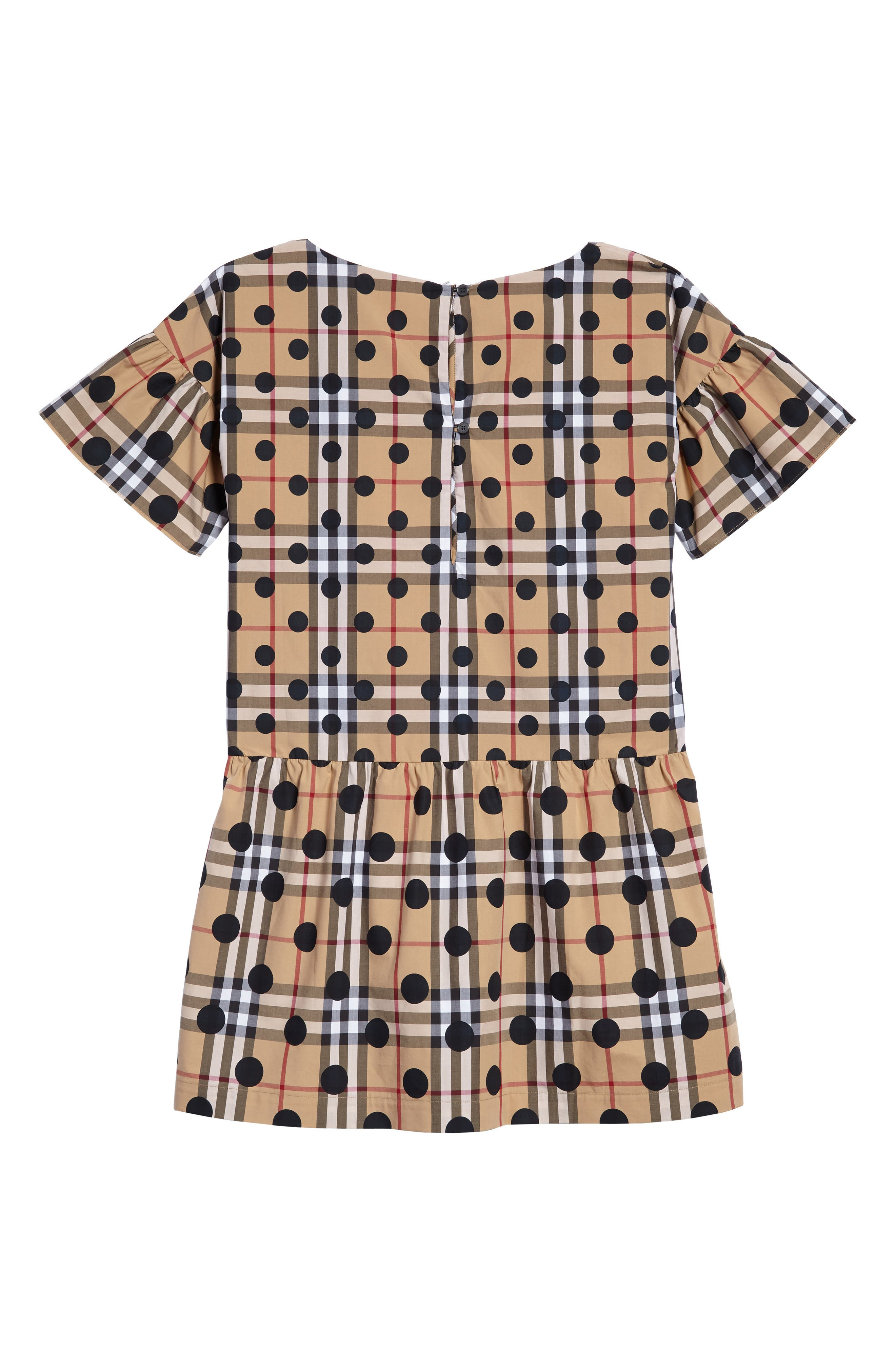 Anabella Drop Waist Dress,                             Alternate thumbnail 2, color,                             Navy
