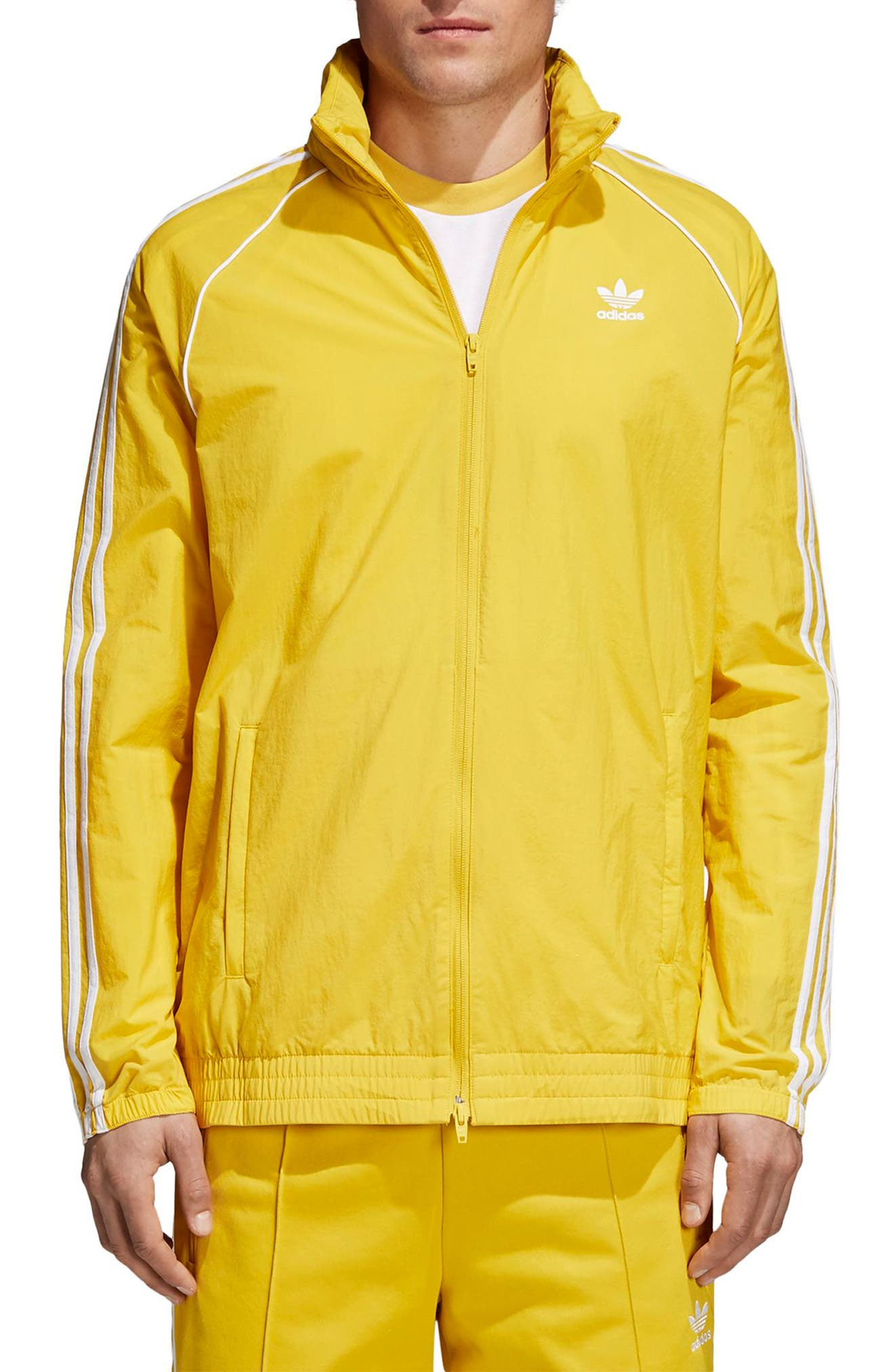 SST Windbreaker,                             Main thumbnail 1, color,                             Tribe Yellow