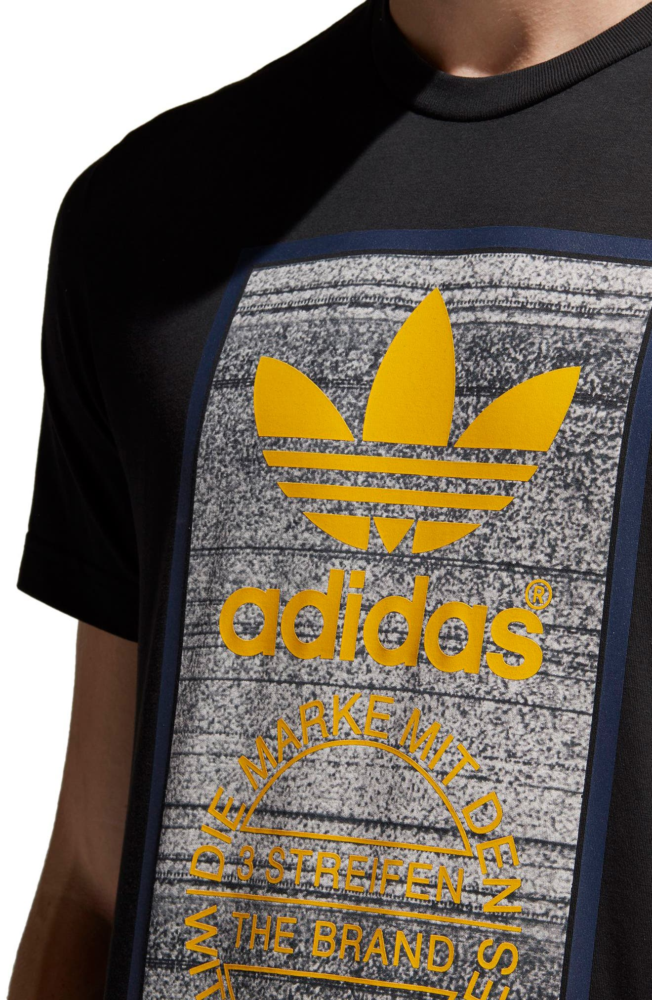 Alternate Image 4  - adidas Originals Traction in Action T-Shirt