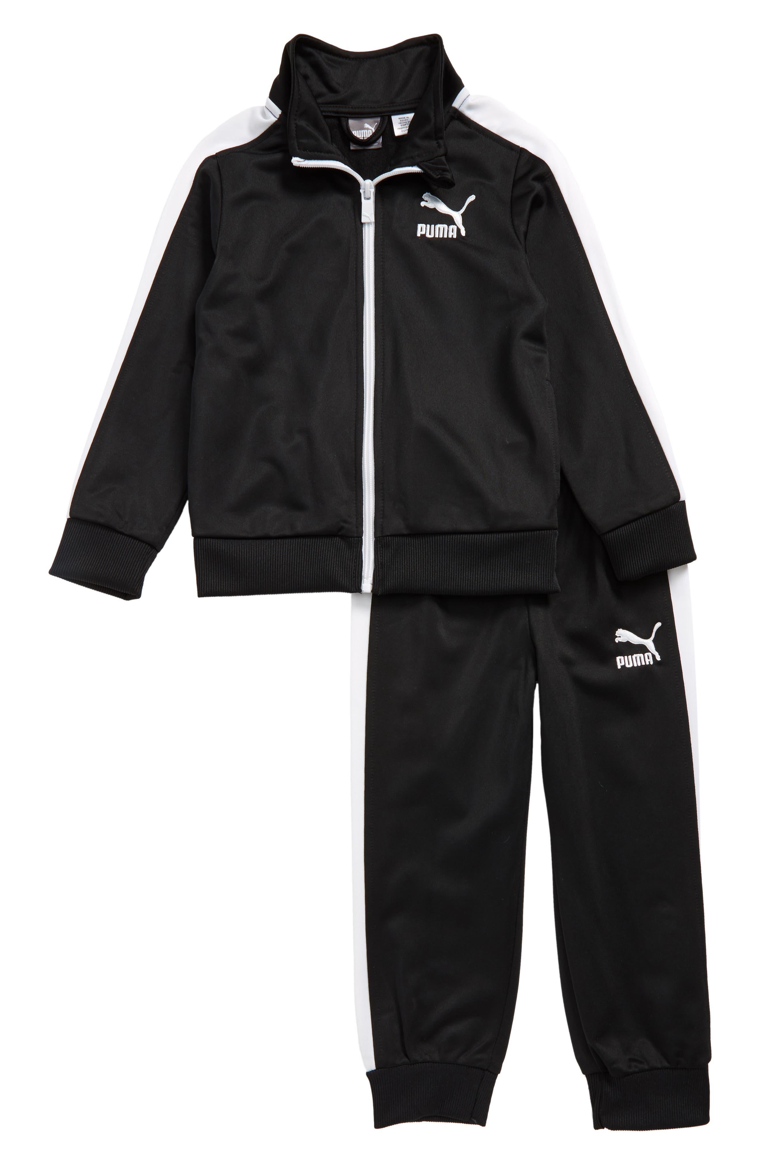 Main Image - PUMA Jacket & Sweatpants Set (Toddler Boys & Little Boys)
