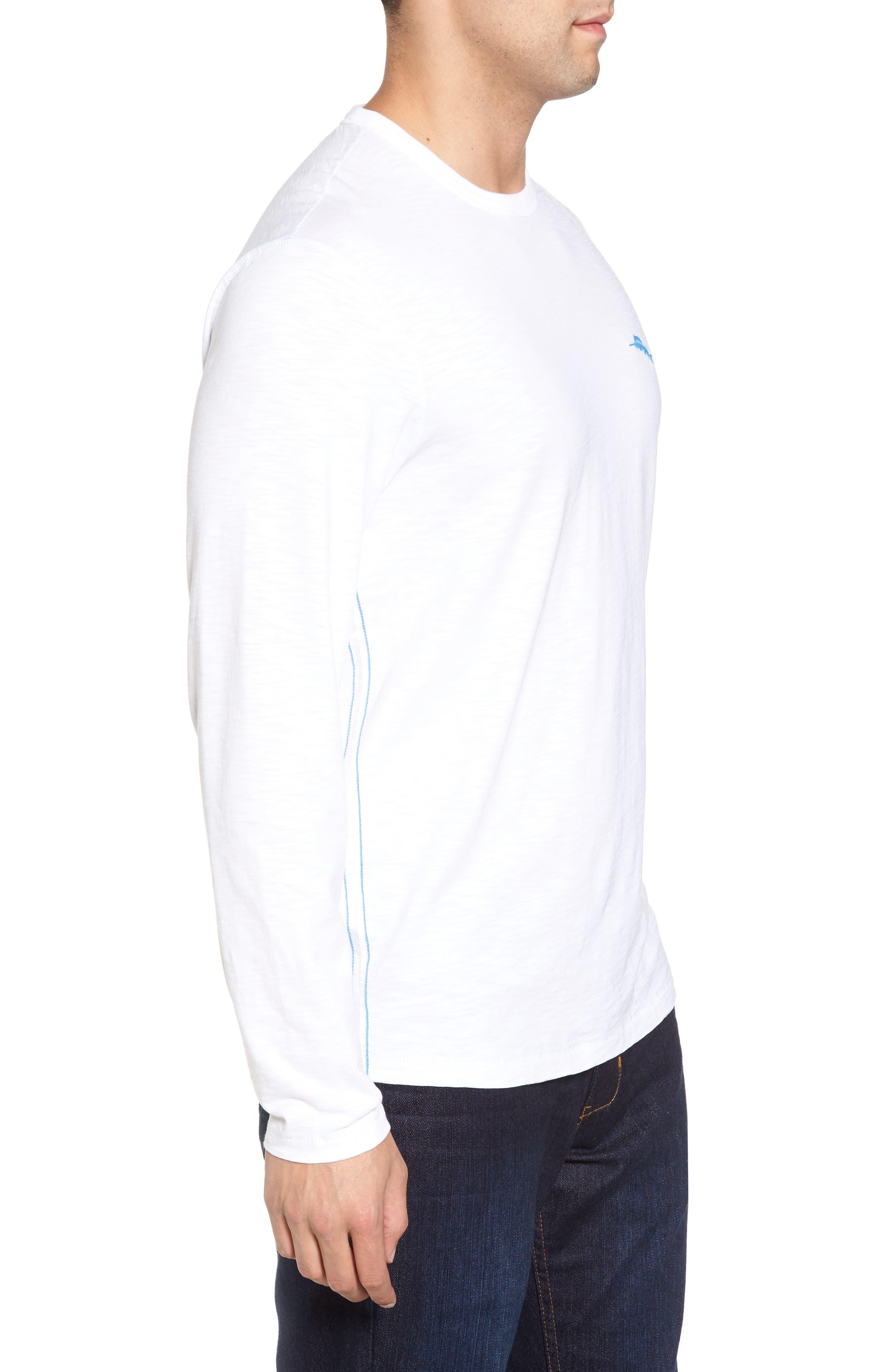 Palmae Beach Lux T-Shirt,                             Alternate thumbnail 3, color,                             White