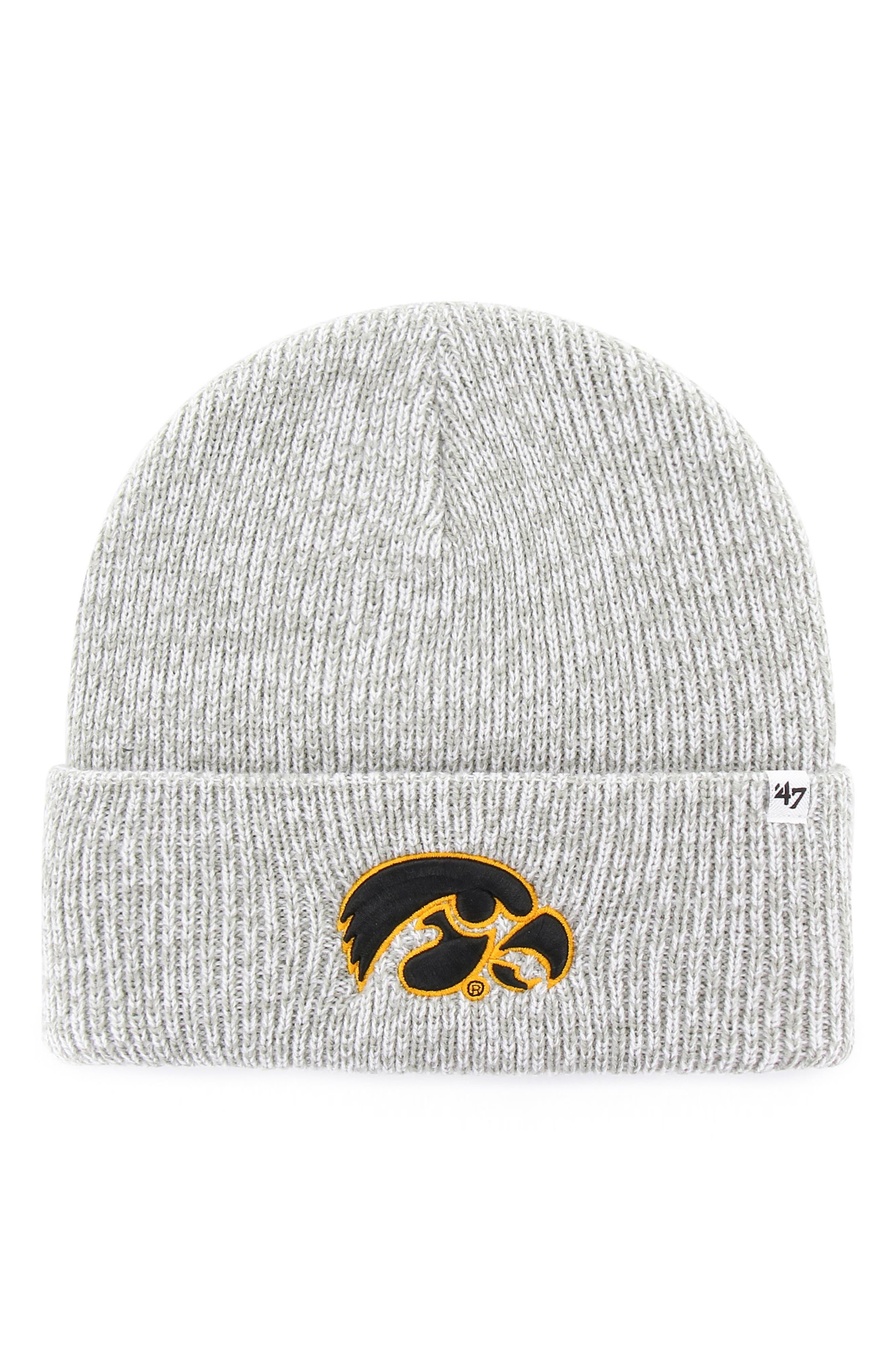Collegiate Brain Freeze Beanie,                         Main,                         color, Iowa Hawkeyes