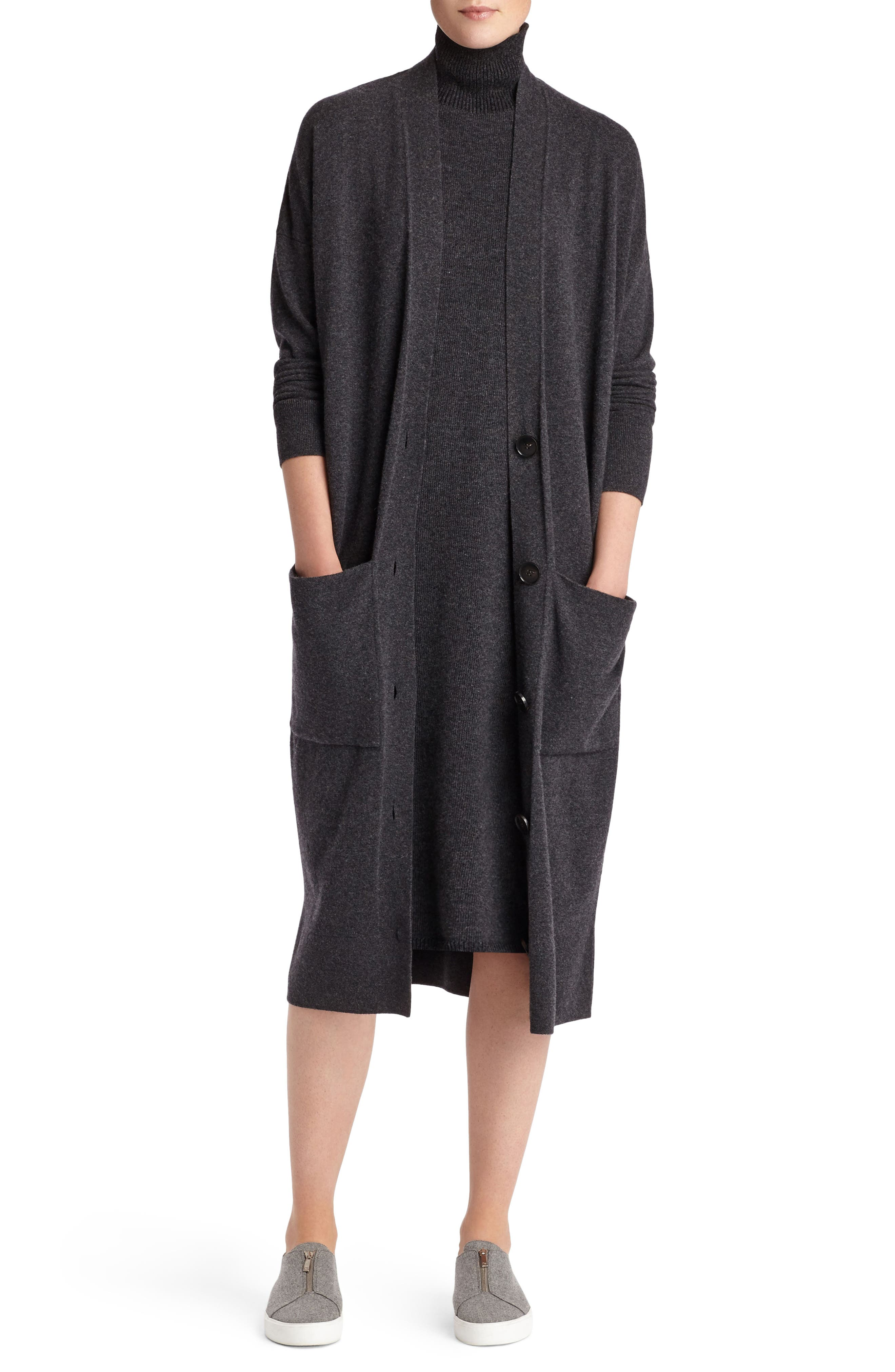 Alternate Image 2  - Lafayette 148 New York Vanise Merino Wool & Cashmere Sweater Dress