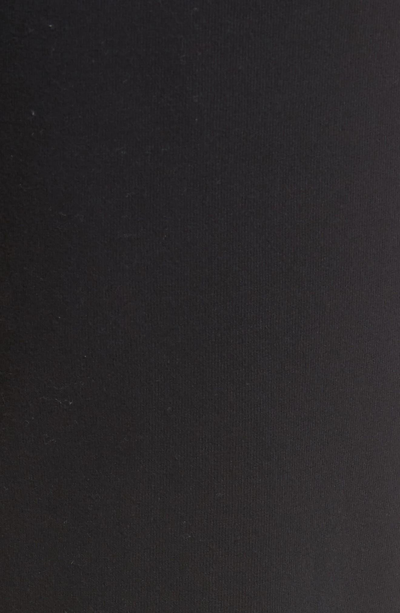 Fleece Jogger Pants,                             Alternate thumbnail 5, color,                             Black Rock