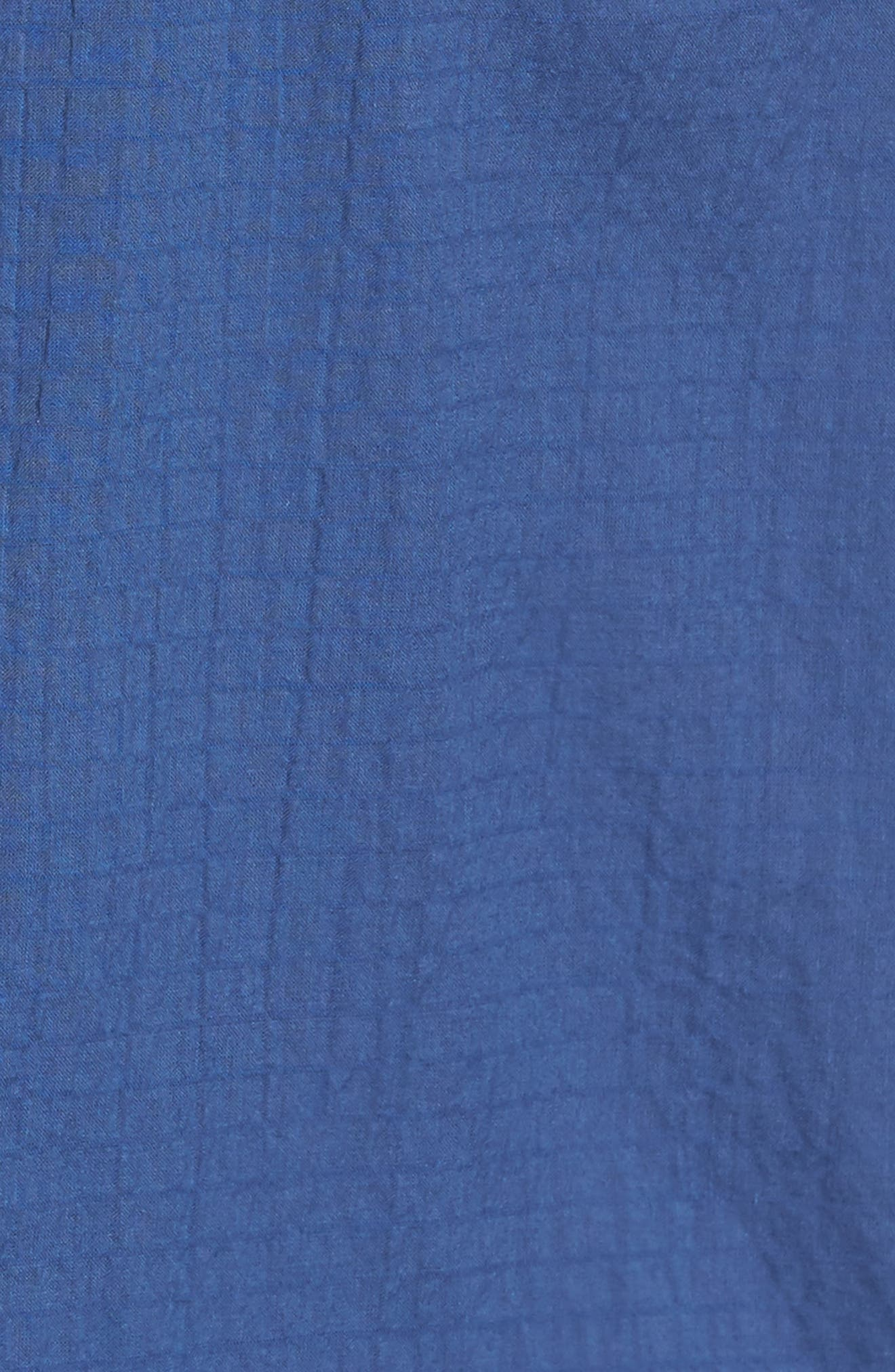 The Salvatore Sport Shirt,                             Alternate thumbnail 5, color,                             Dockside Blue
