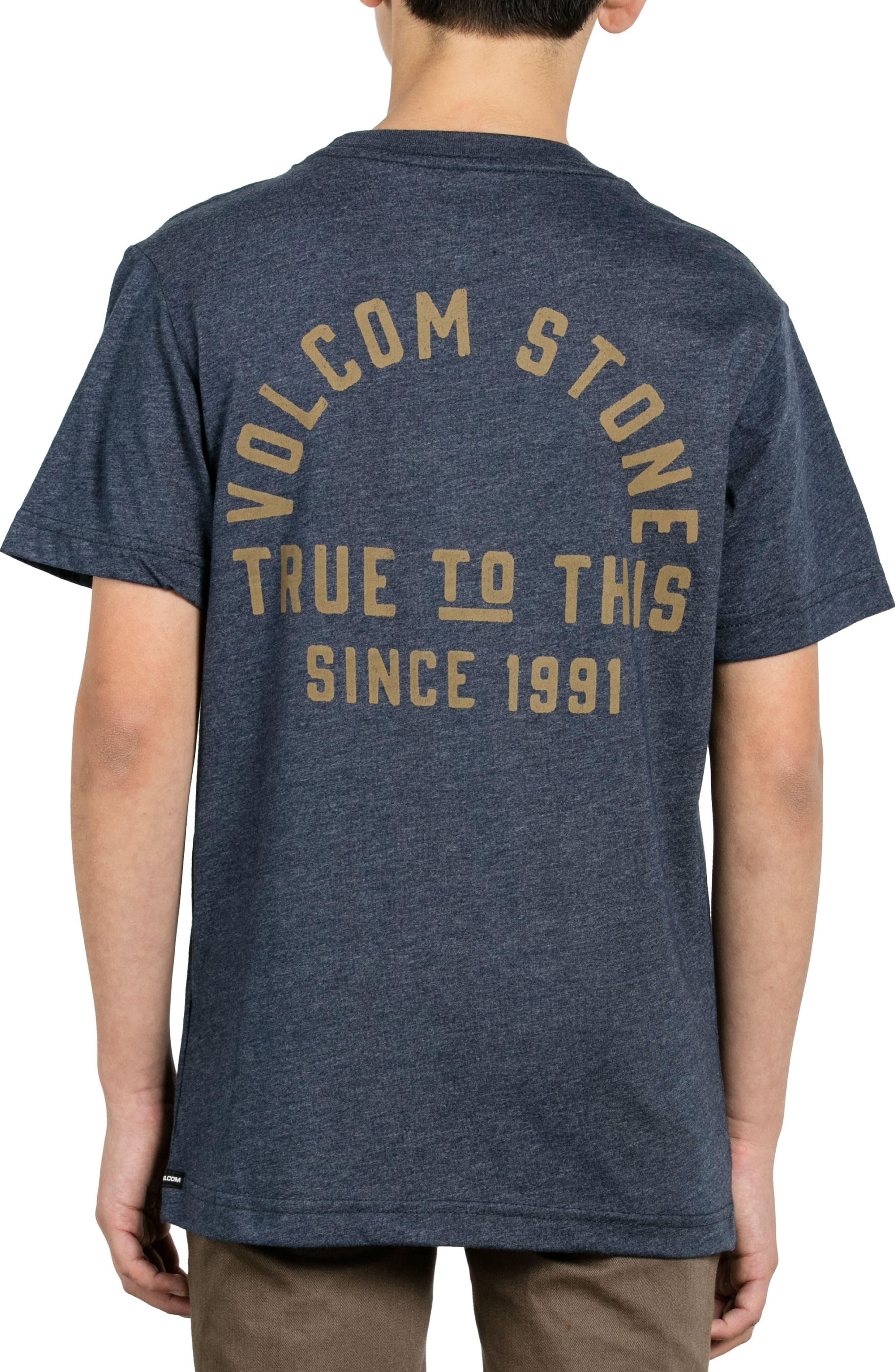 Stone Co. T-Shirt,                             Alternate thumbnail 4, color,                             Indigo