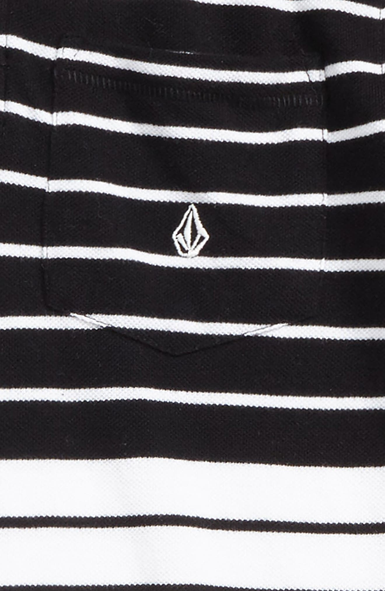 Alternate Image 2  - Volcom Wowzer Stripe Polo (Toddler Boys & Little Boys)