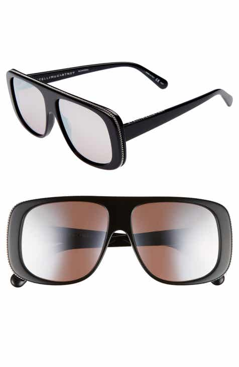 9d5a80dde6e Stella McCartney 57mm Flat Top Sunglasses
