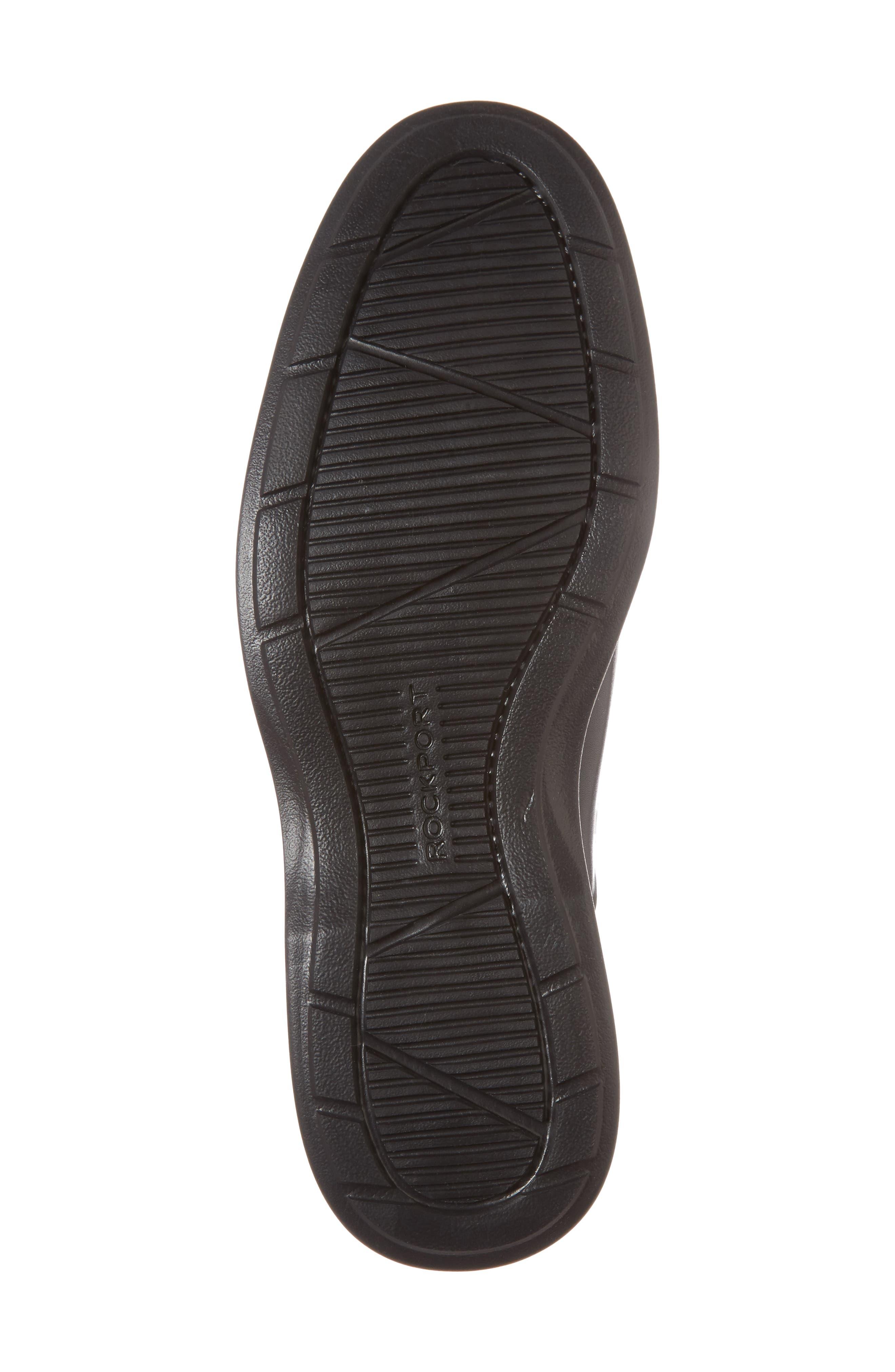 Dressports 2 Lite Venetian Loafer,                             Alternate thumbnail 6, color,                             Black Leather
