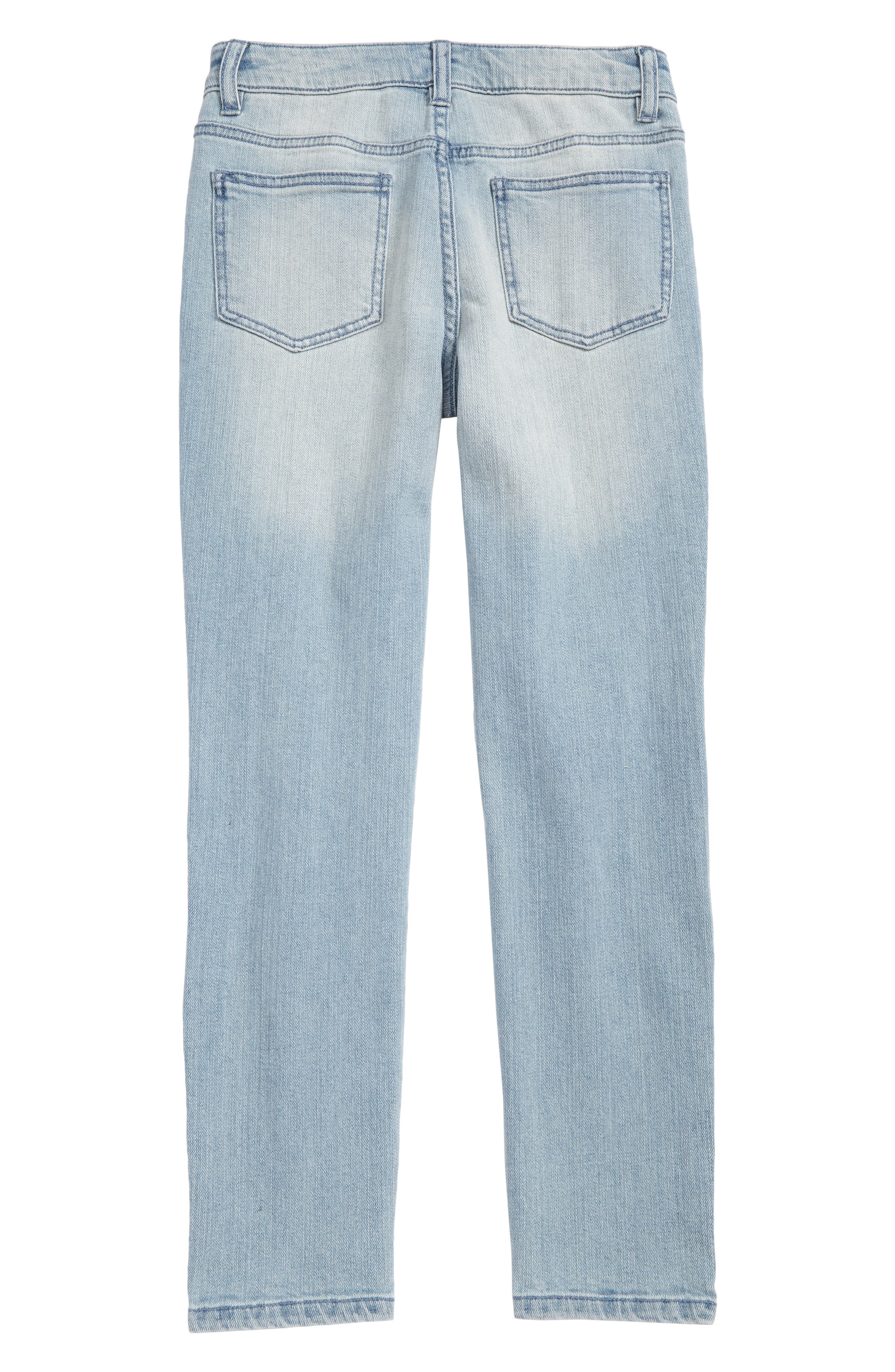 Alternate Image 2  - Elwood Rip & Repair Straight Leg Jeans (Big Boys)