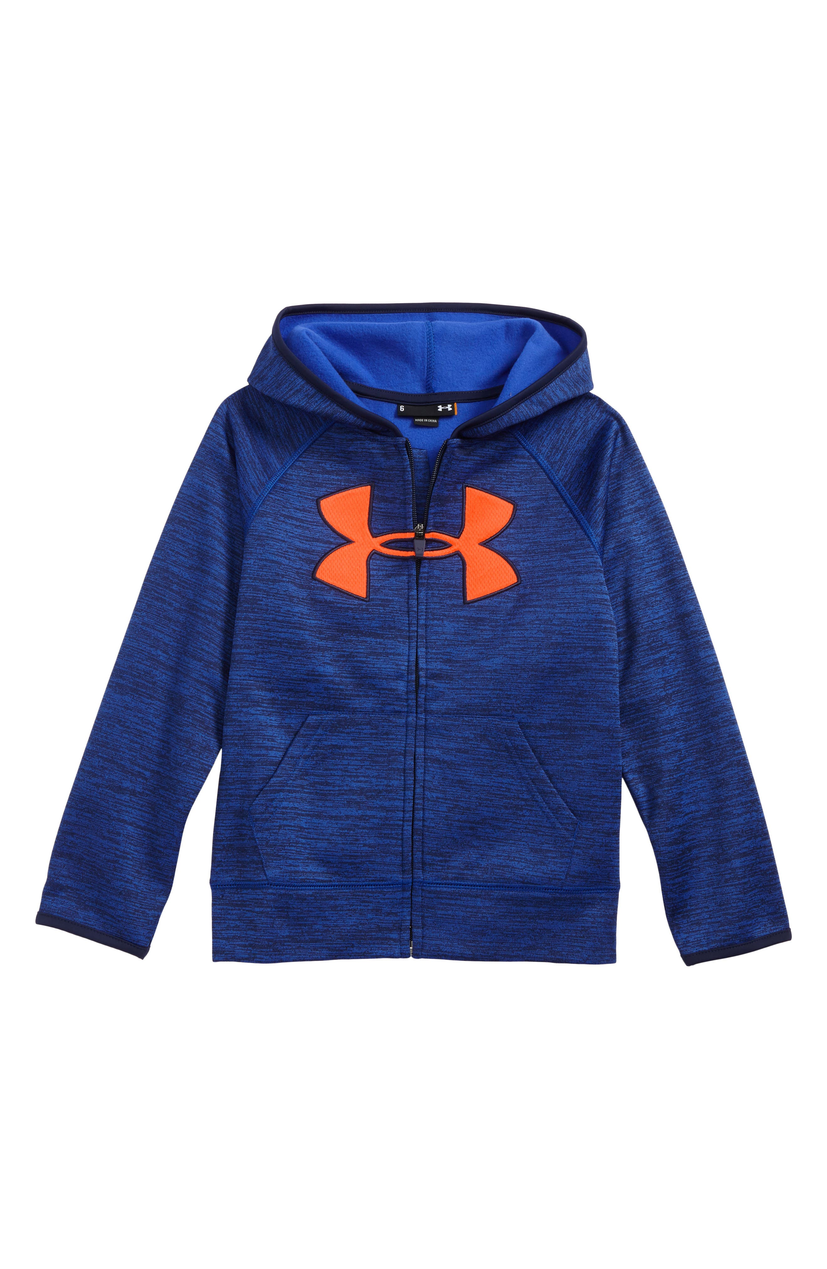 Under Armour Big Logo Zip-Up Hoodie (Toddler Boys & Little Boys)