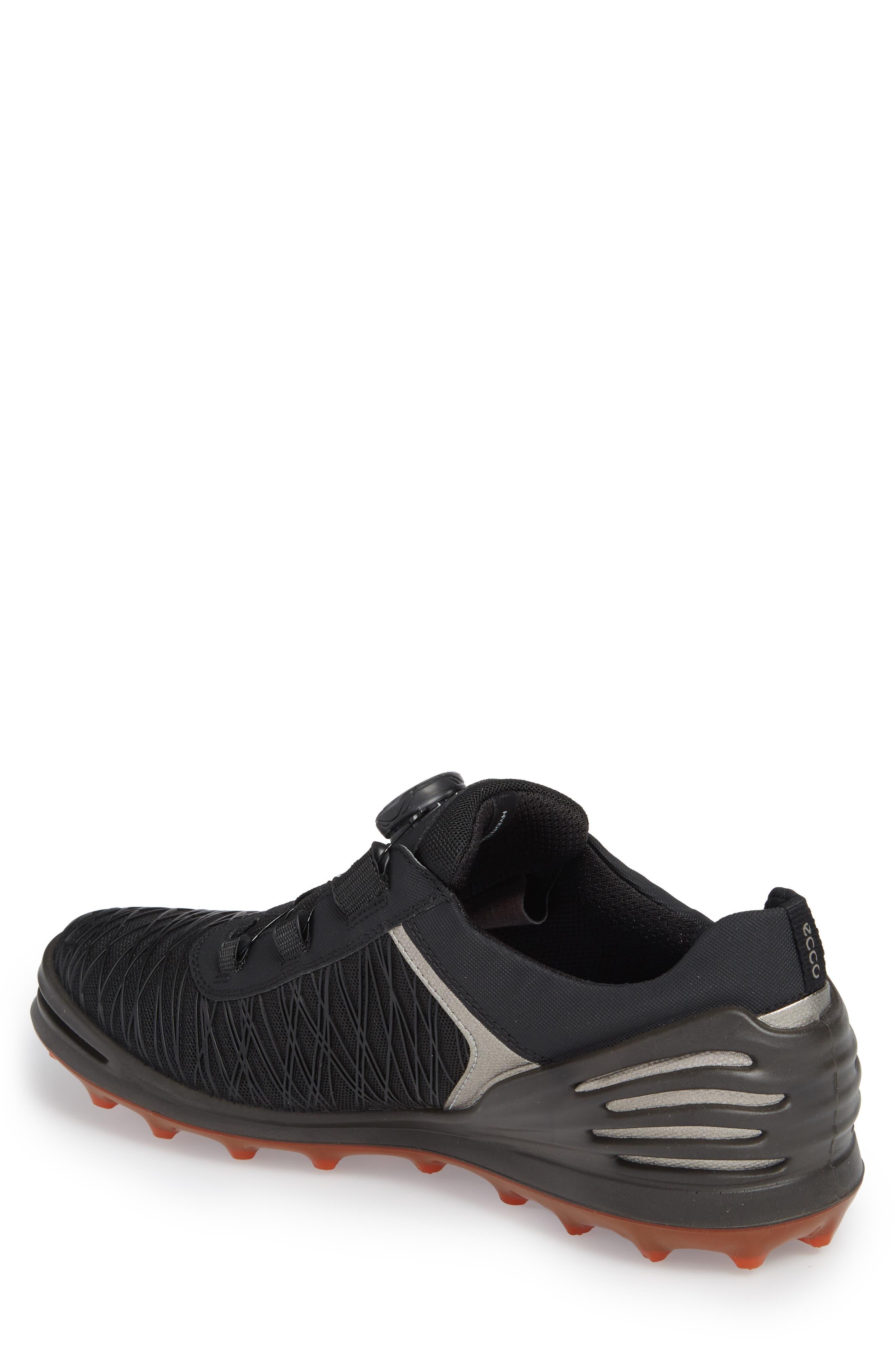Cage Pro BOA Golf Shoe,                             Alternate thumbnail 2, color,                             Black