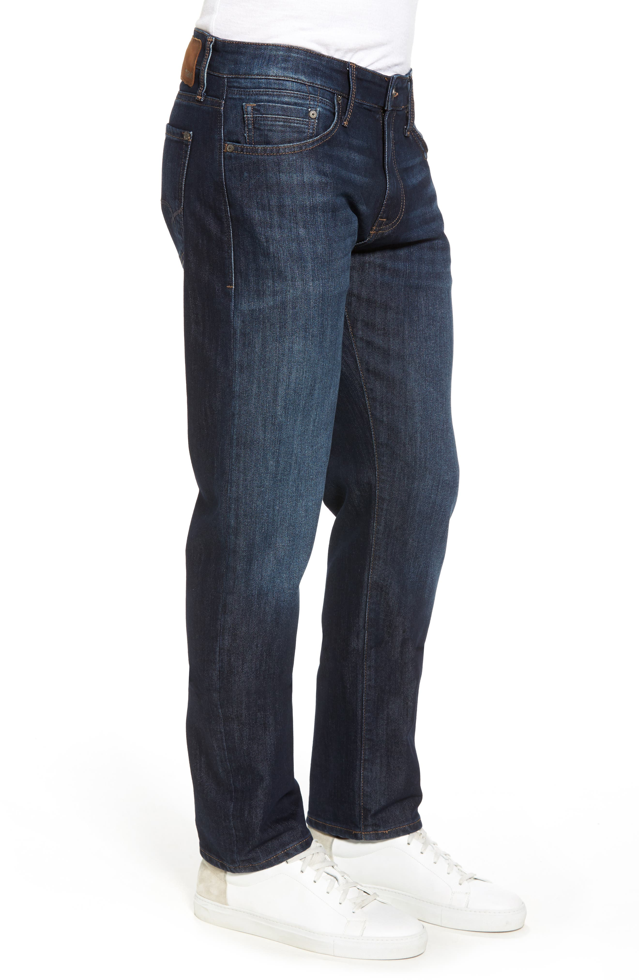 Zach Straight Leg Jeans,                             Alternate thumbnail 3, color,                             Rinse Stanford