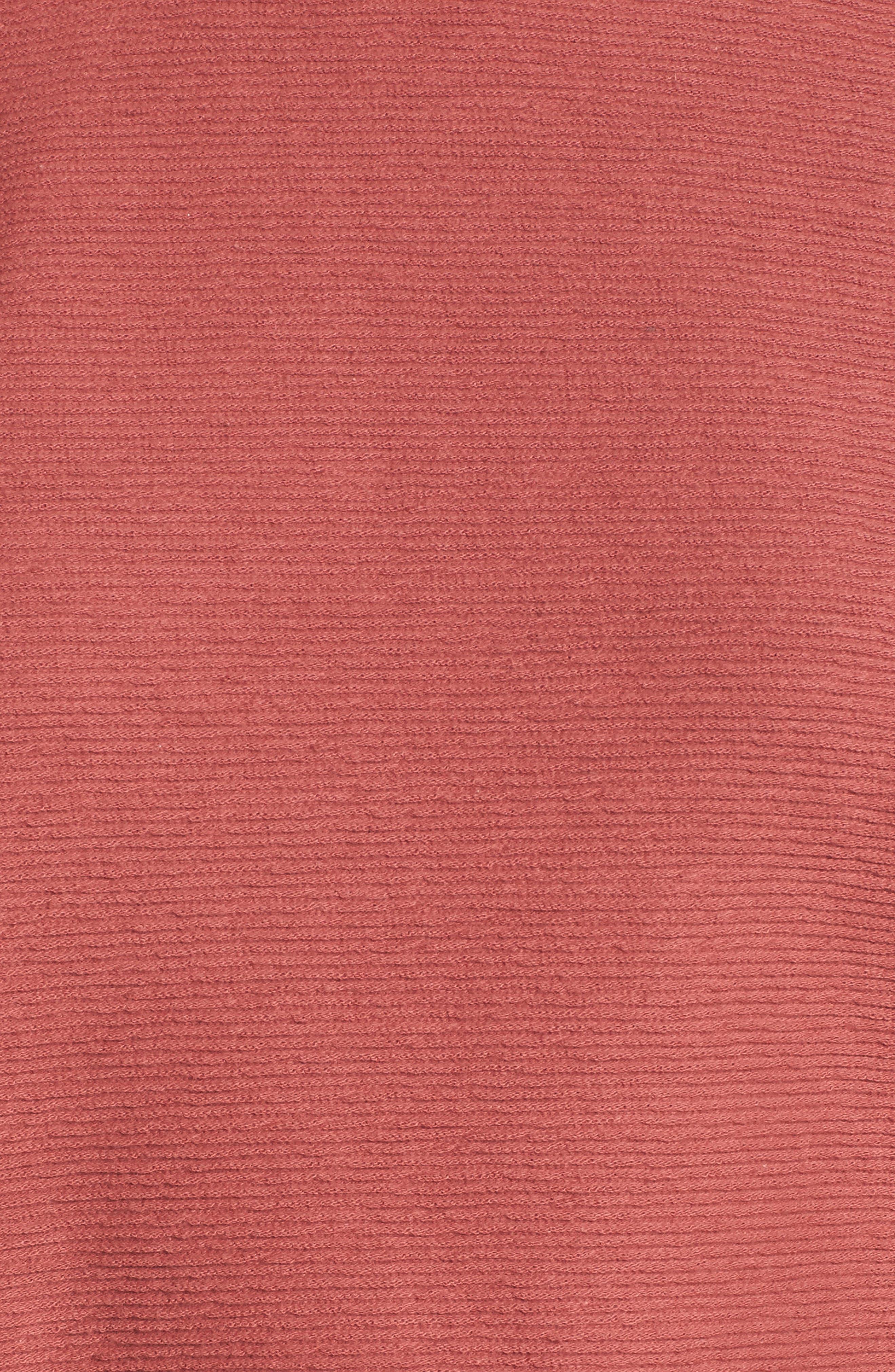 Alternate Image 5  - Madewell Flare Sleeve Ribbed Top