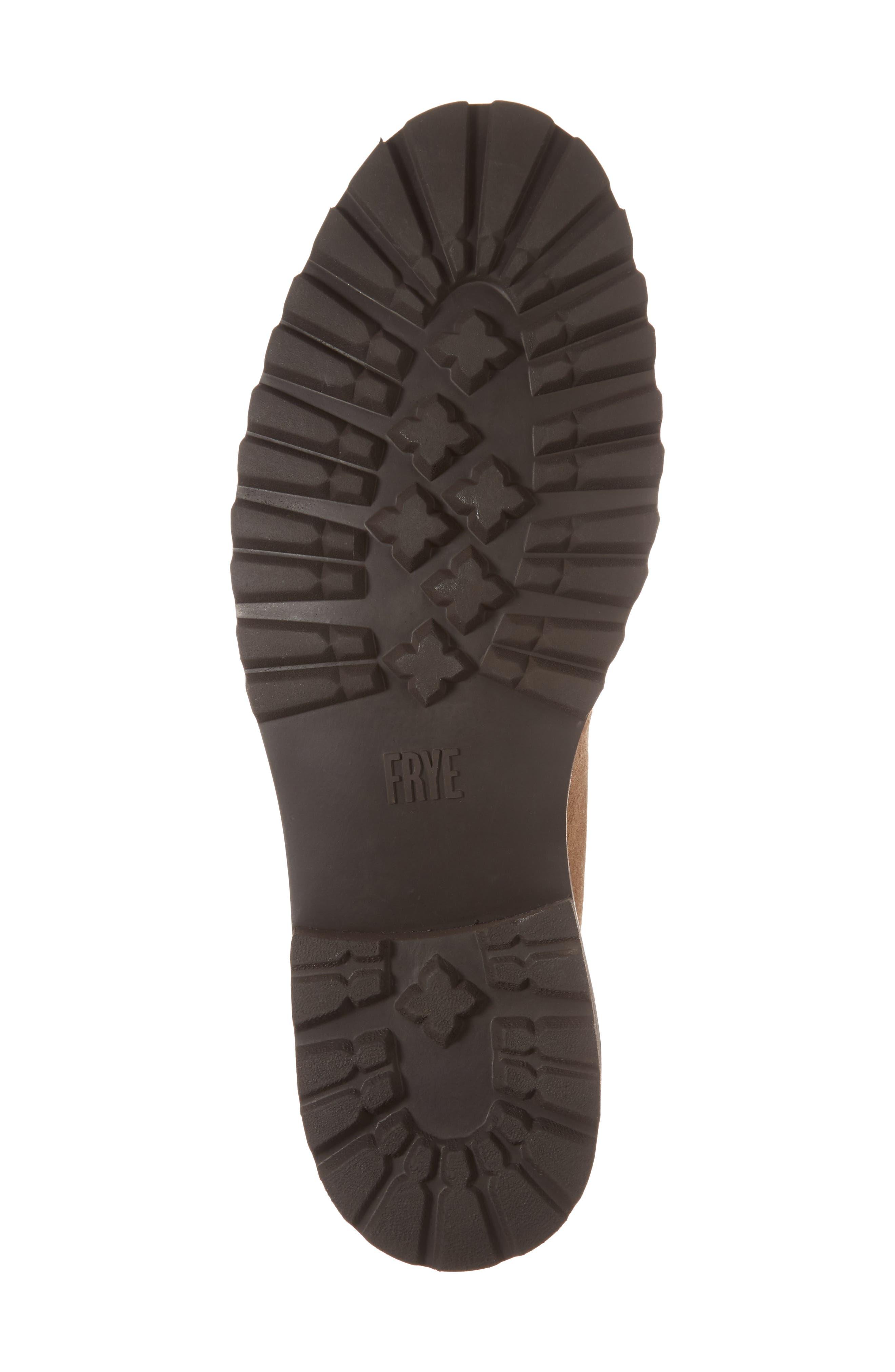Edwin Waterproof Chukka Boot,                             Alternate thumbnail 6, color,                             Fawn Leather