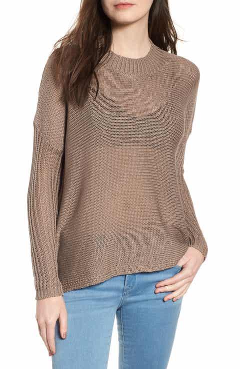 Lira Clothing Becca Sheer Knit Sweater