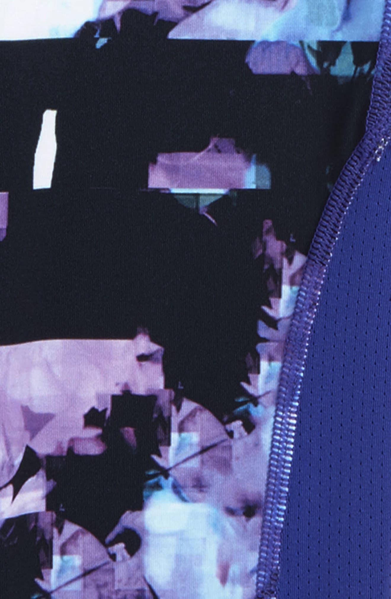 Alternate Image 2  - Nike Pro Print Tights (Big Girls)