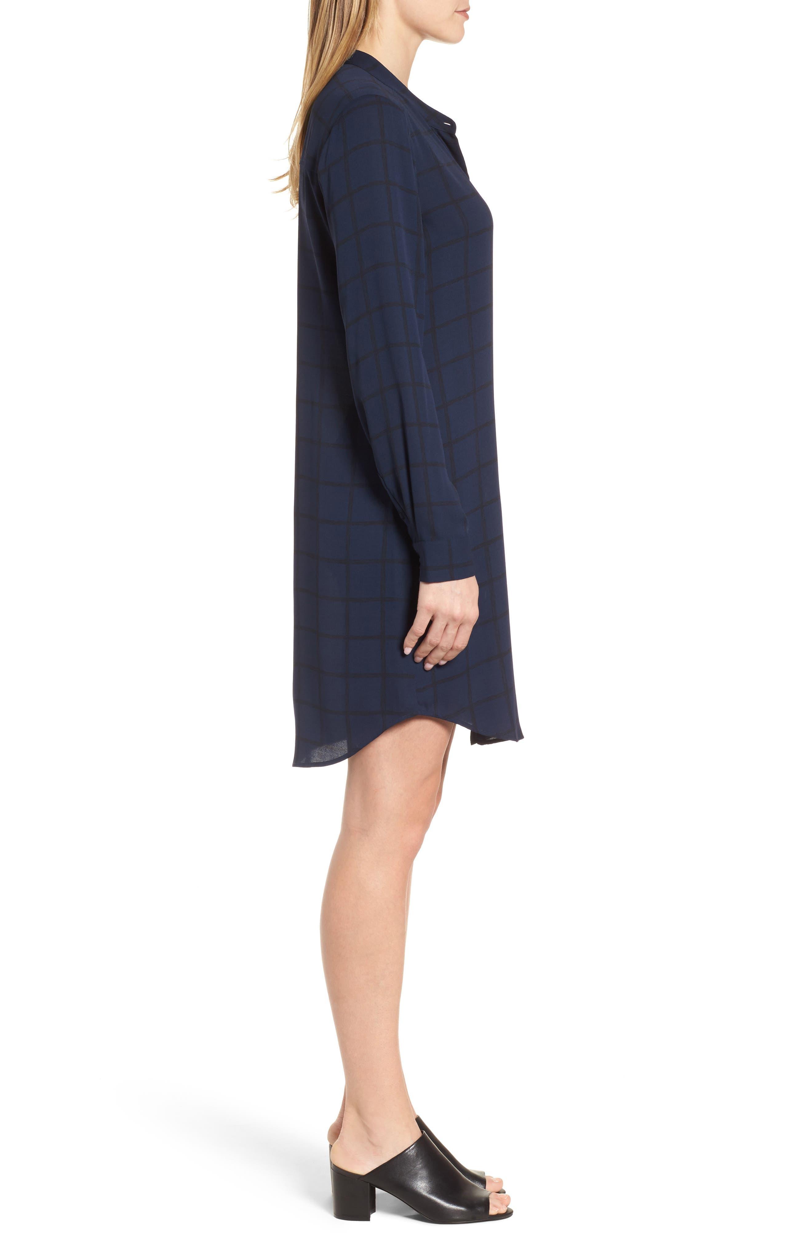 Alternate Image 3  - Eileen Fisher Silk Shirtdress