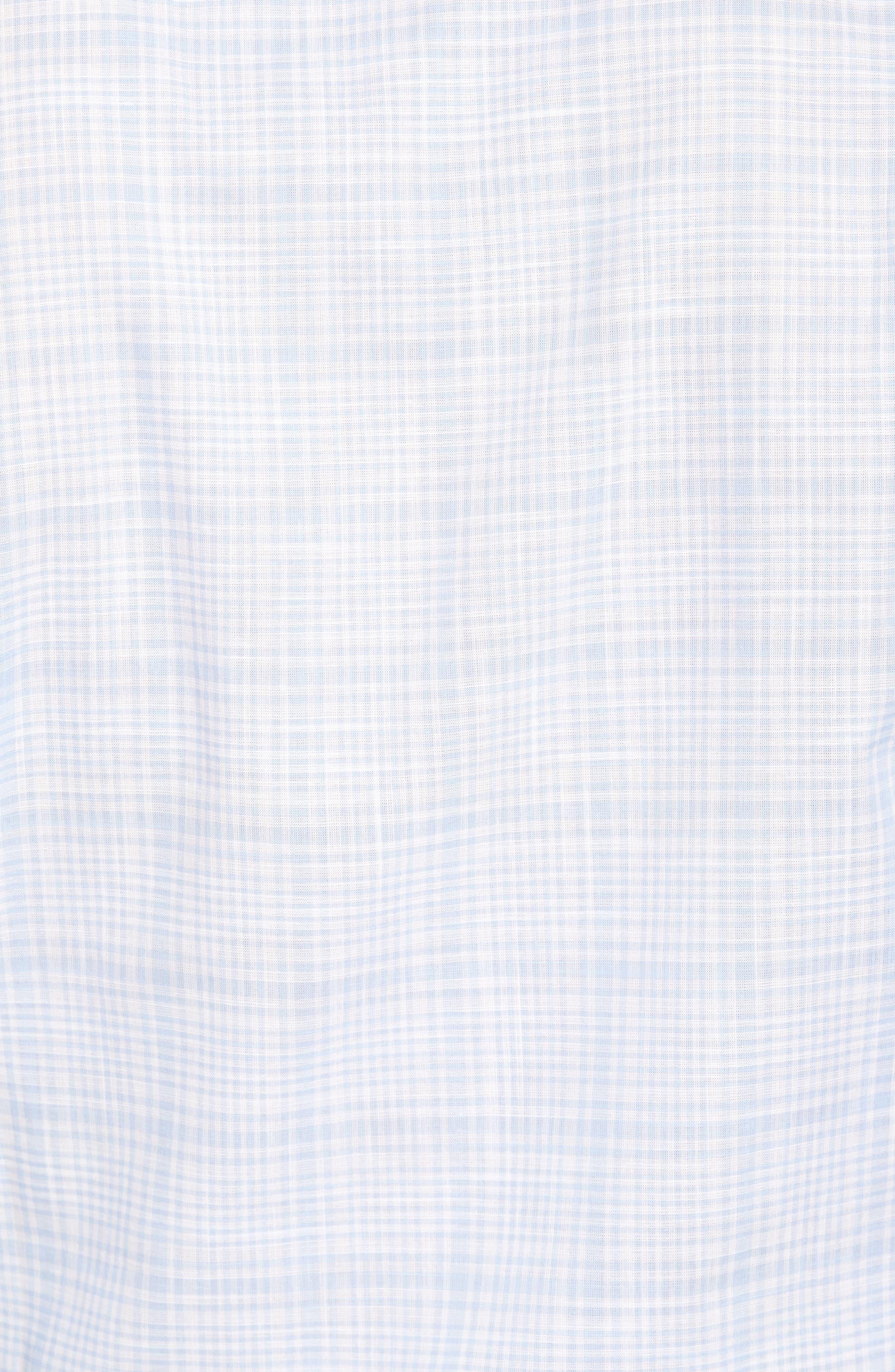 Alternate Image 5  - Peter Millar Collection Laguna Plaid Sport Shirt