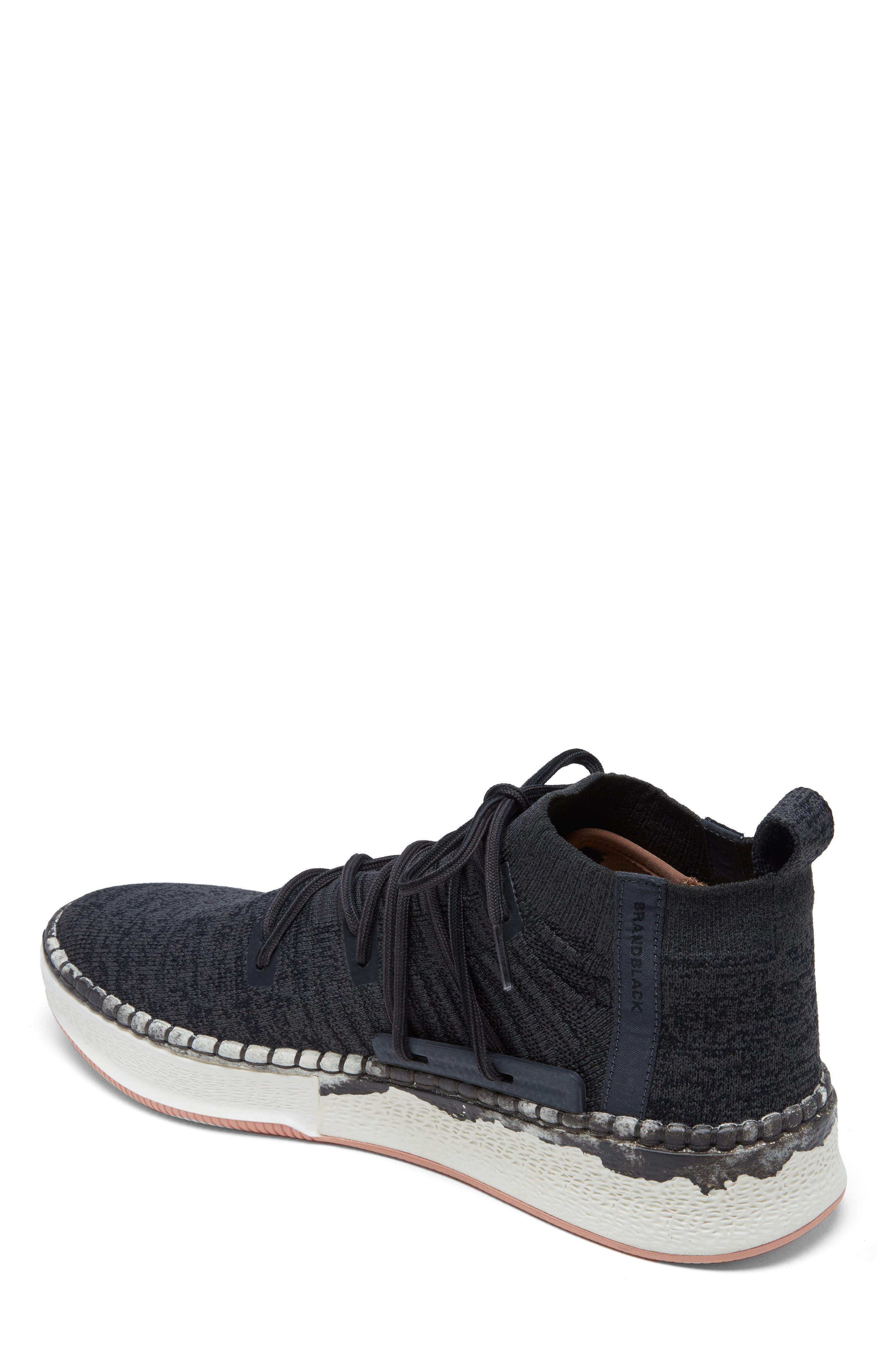 Delta Shibori Sneaker,                             Alternate thumbnail 2, color,                             Black
