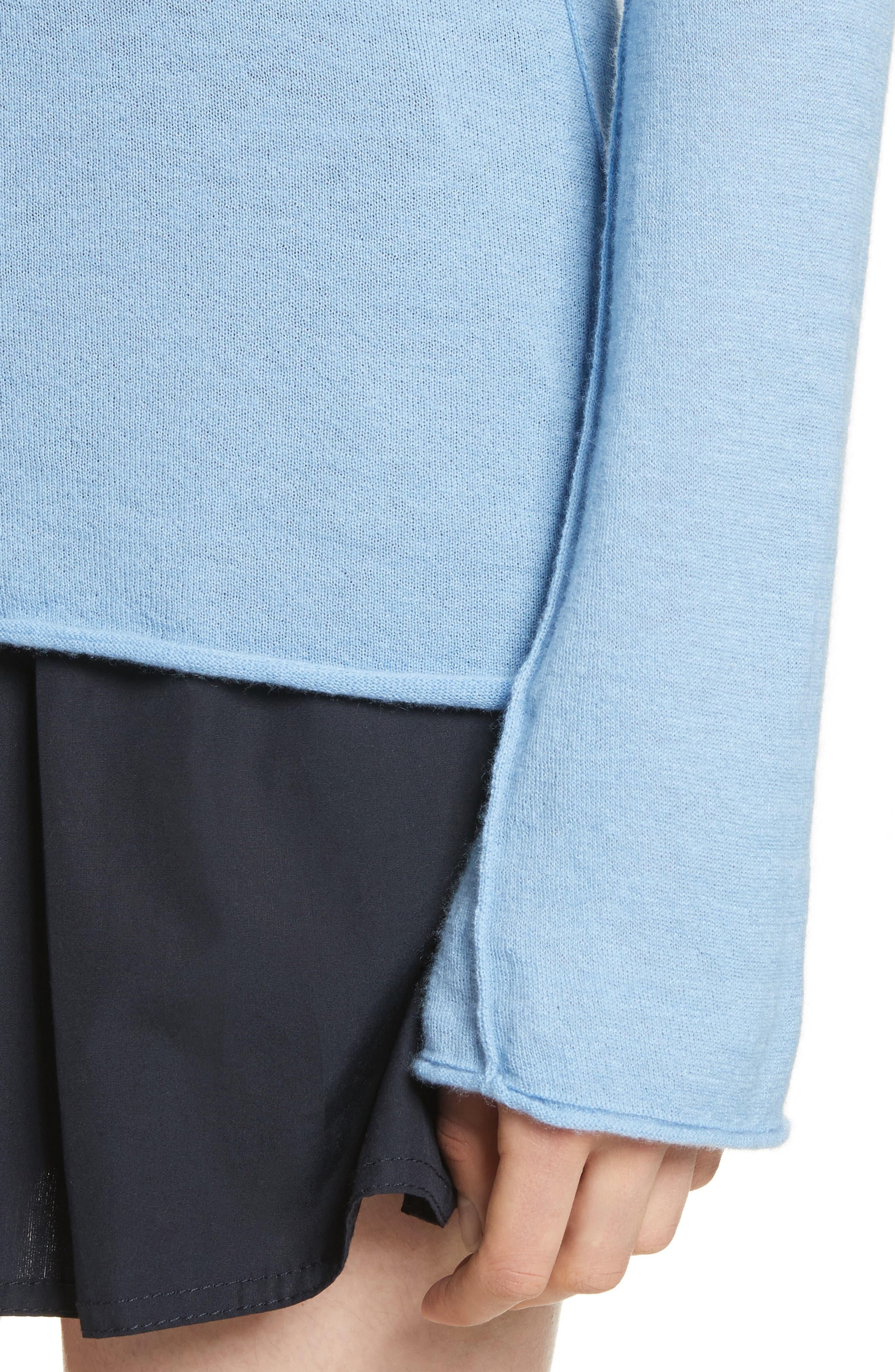 Alternate Image 4  - Vince Cashmere V-Back Cashmere Sweater