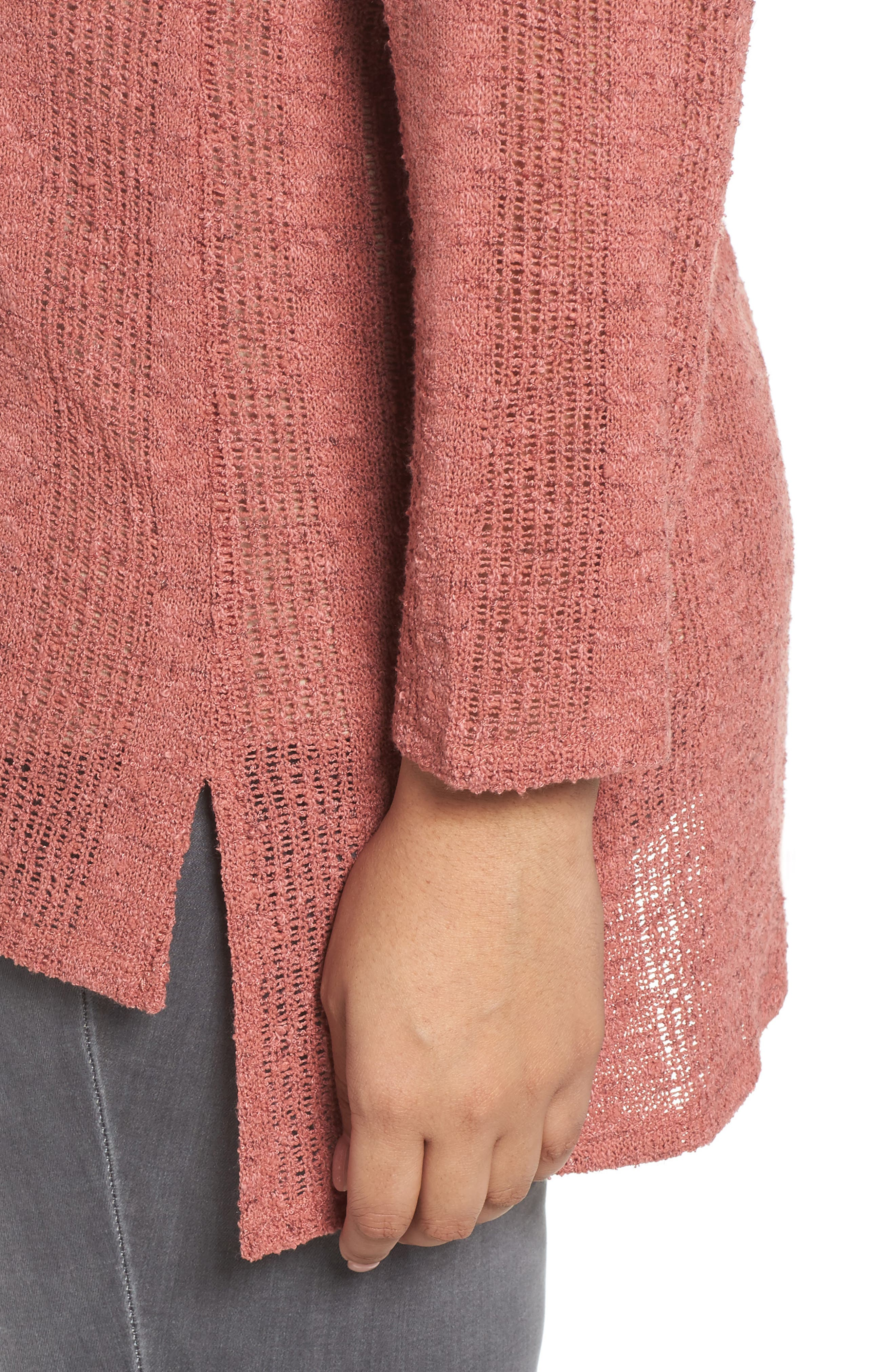 Alternate Image 4  - Two by Vince Camuto Drop Needle Sweater (Plus Size)