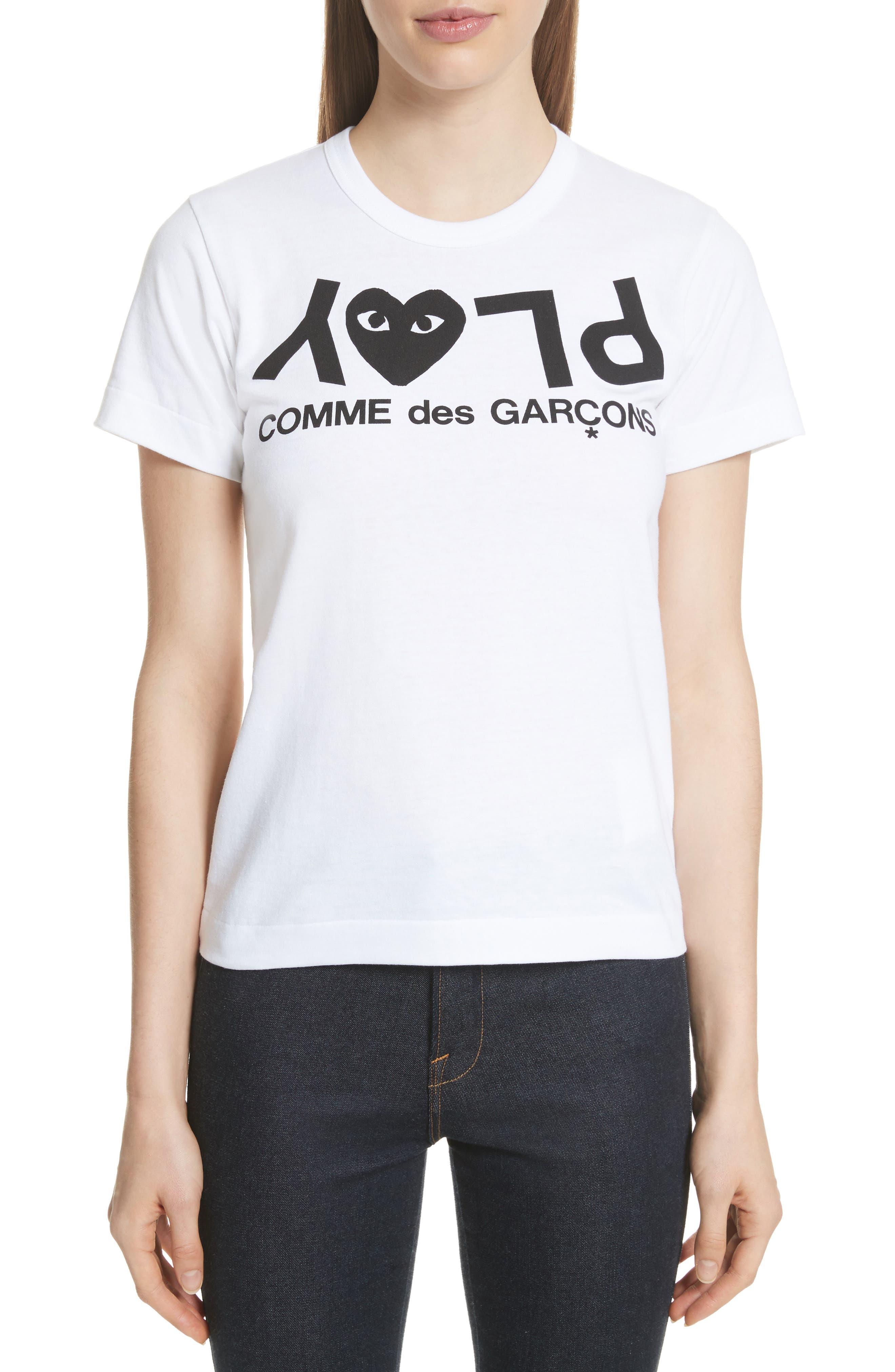 Main Image - Comme des Garçons PLAY Logo Tee