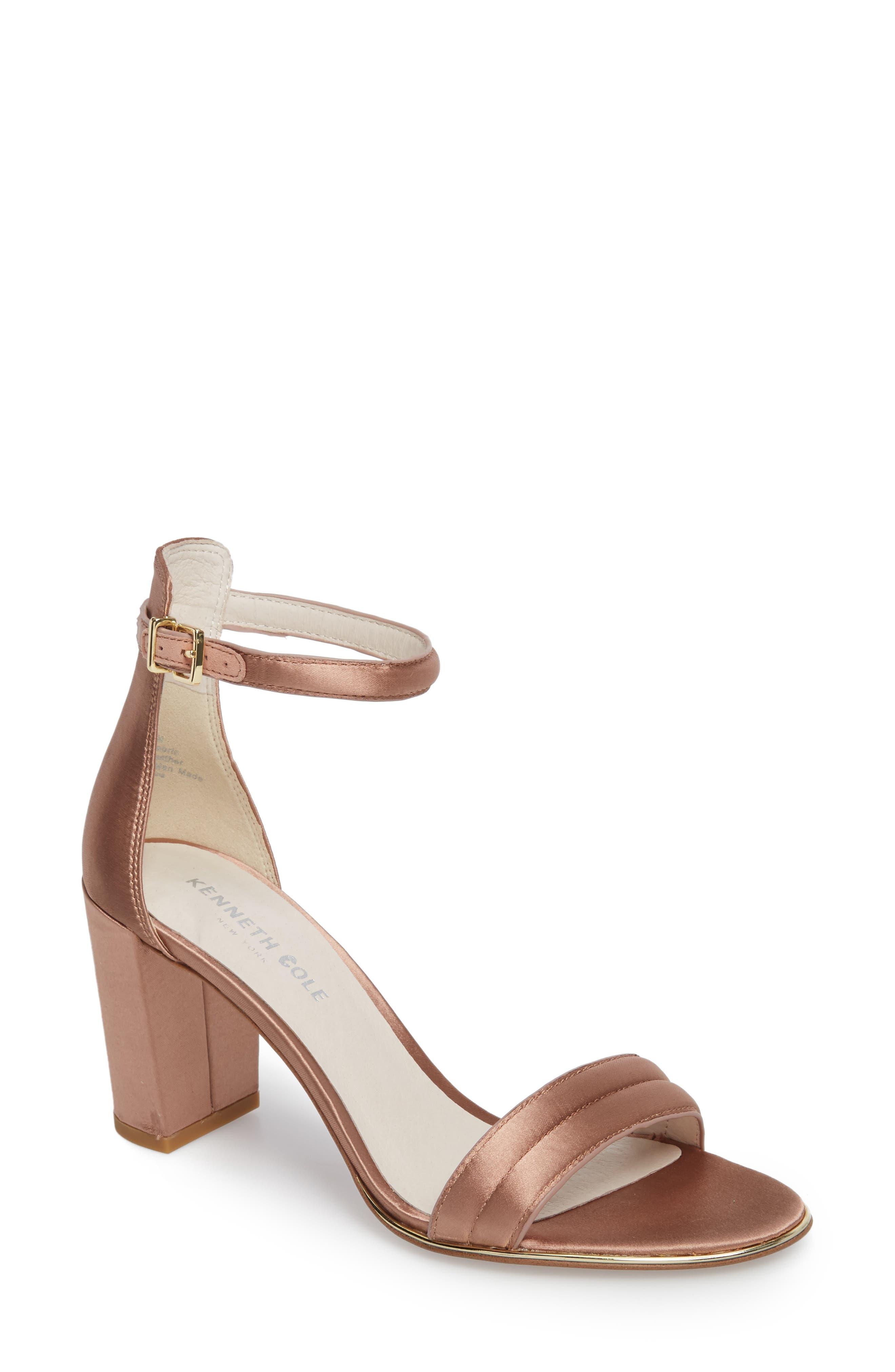 Kenneth Cole New York 'Lex' Ankle Strap Sandal (Women)