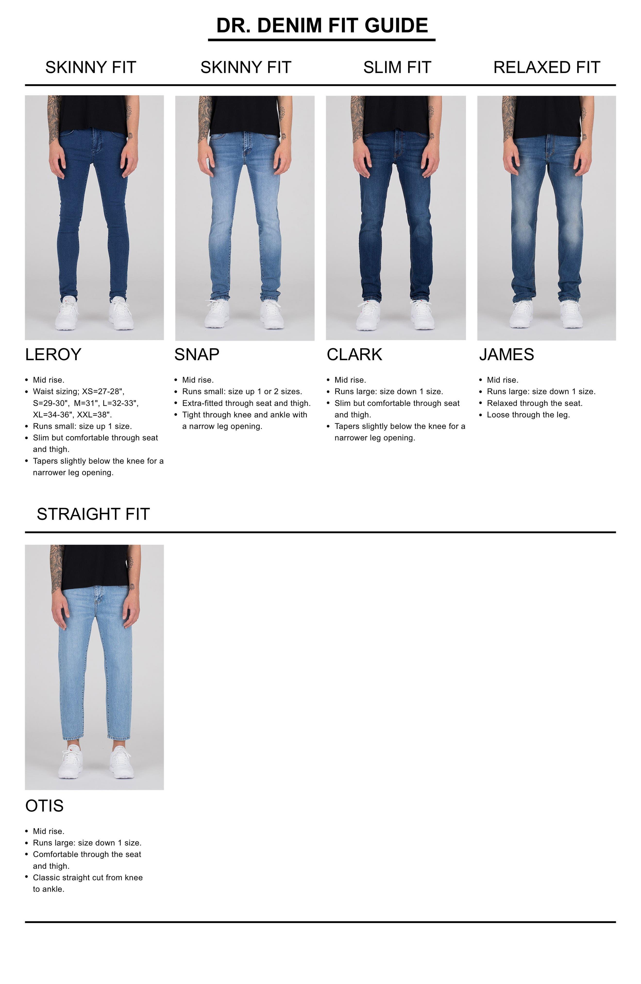 Alternate Image 7  - Dr. Denim Supply Co. Clark Slim Straight Leg Jeans (Worn Light Retro)