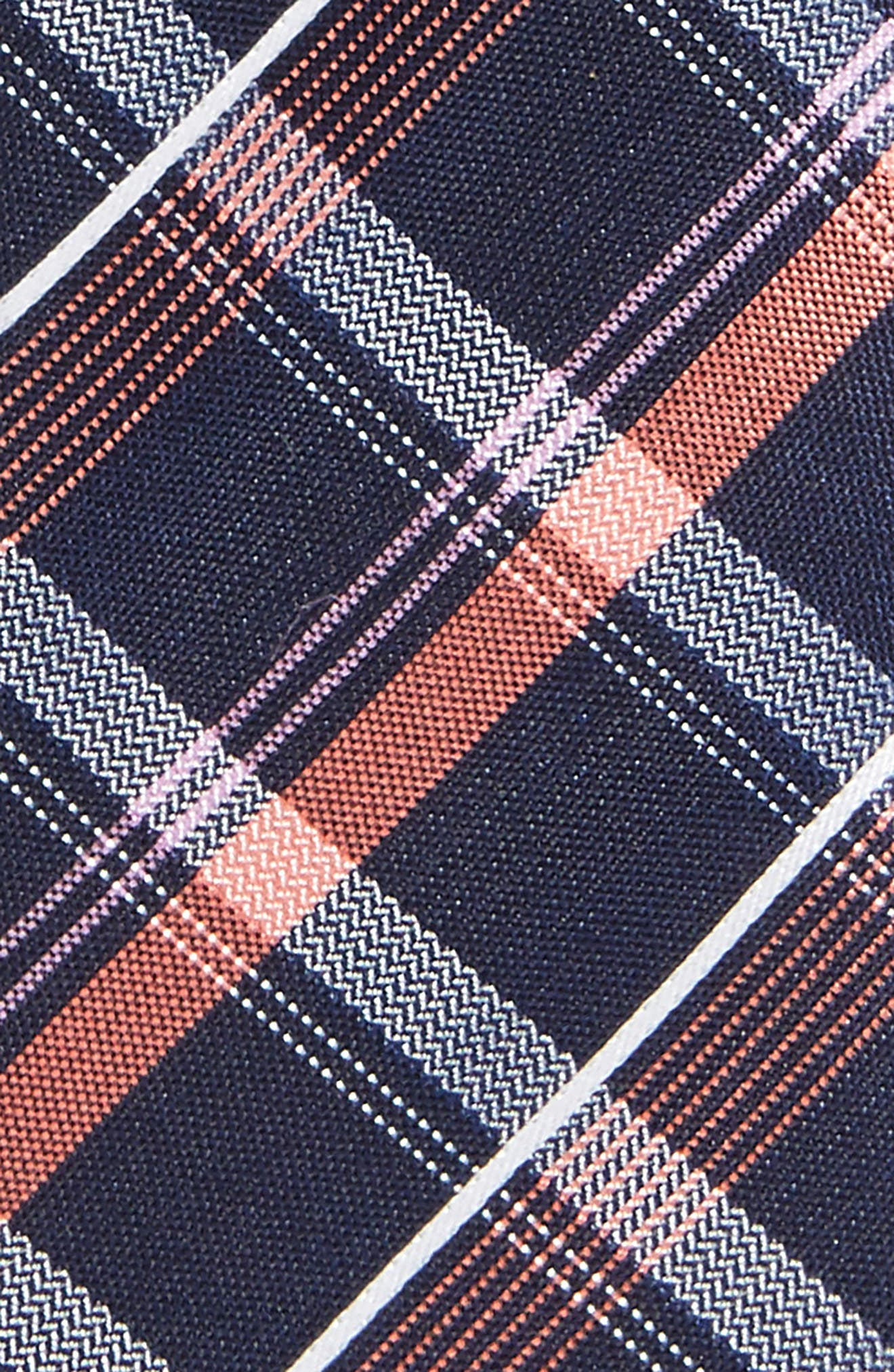 Alternate Image 2  - Nordstrom Check Silk Tie (Boys)