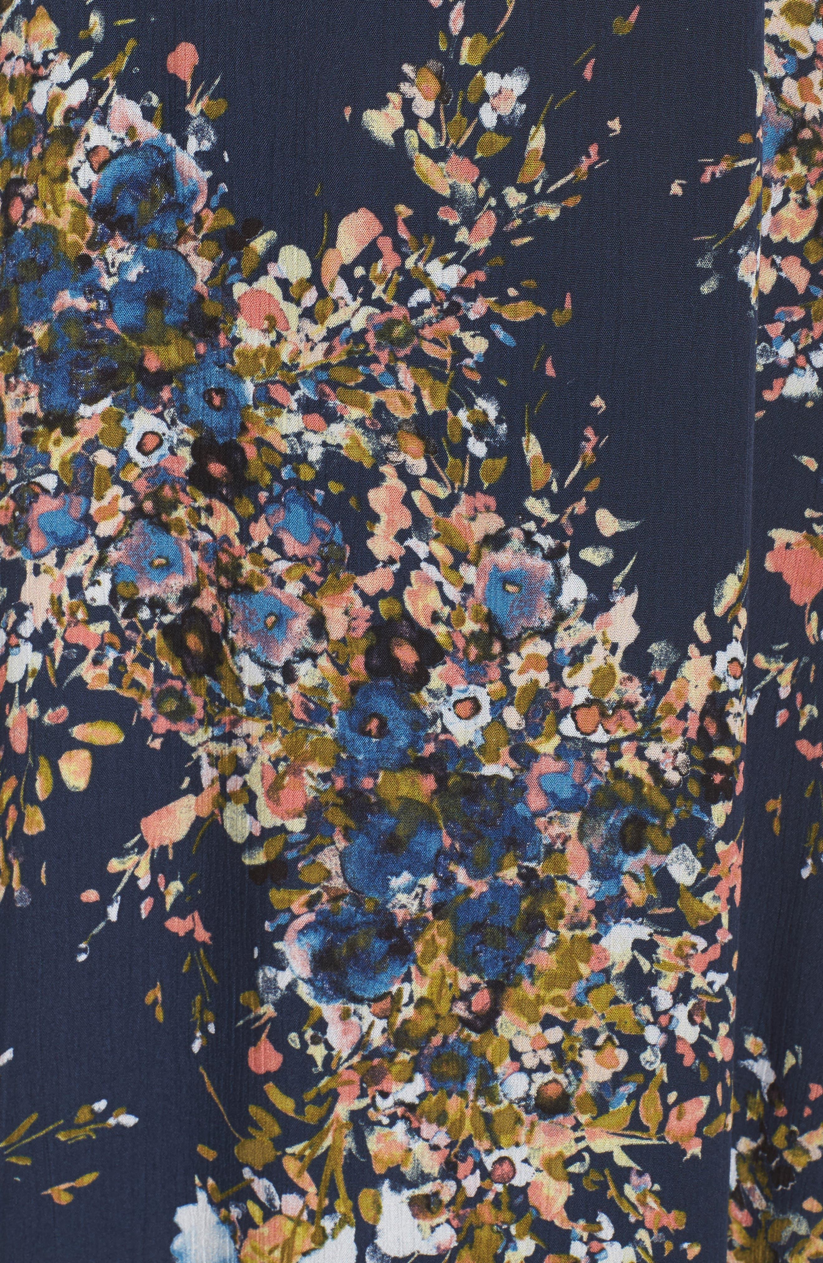 Maxi Dress,                             Alternate thumbnail 5, color,                             Freesia