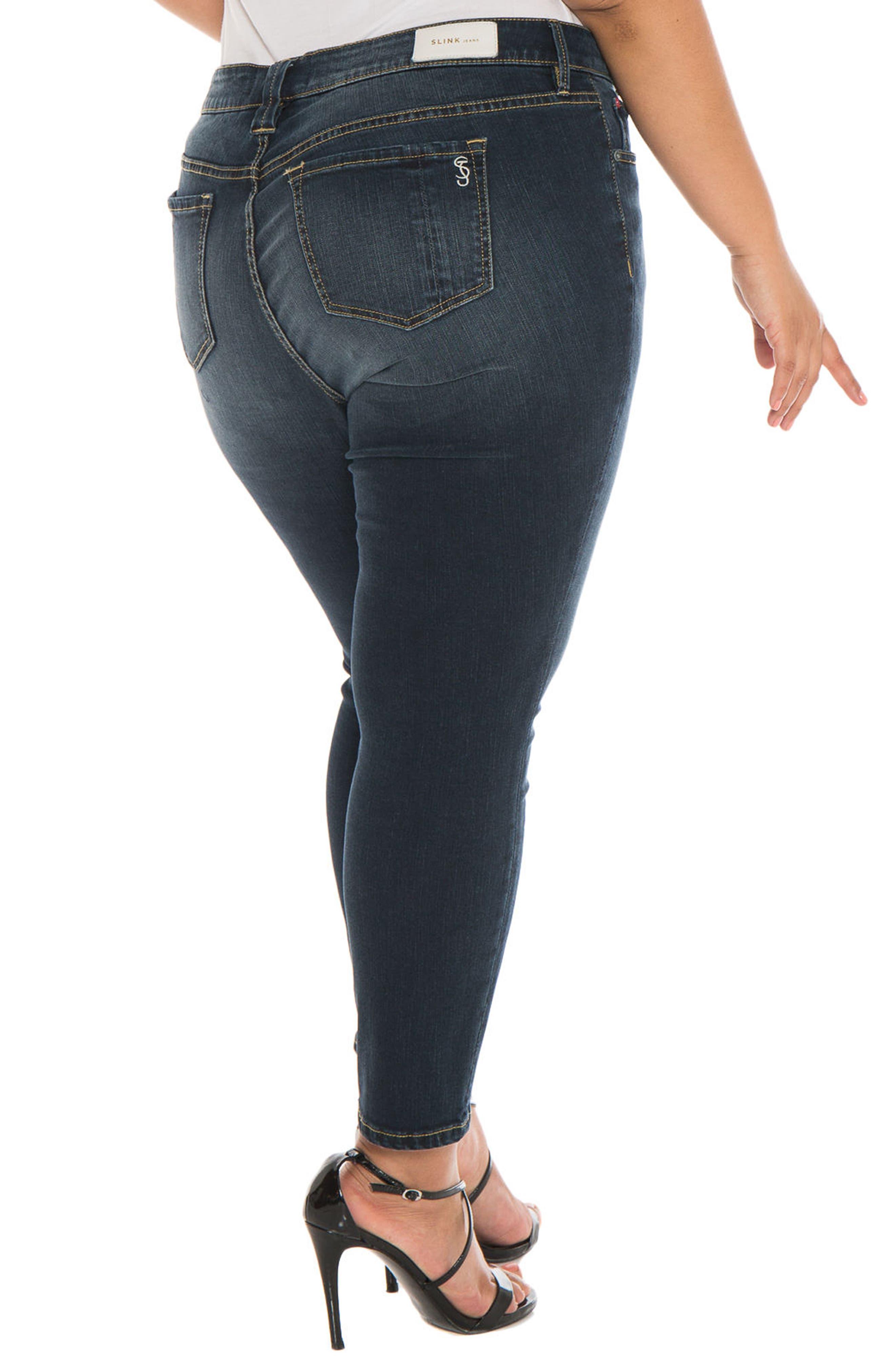 Skinny Ankle Jeans,                             Alternate thumbnail 5, color,                             Sal