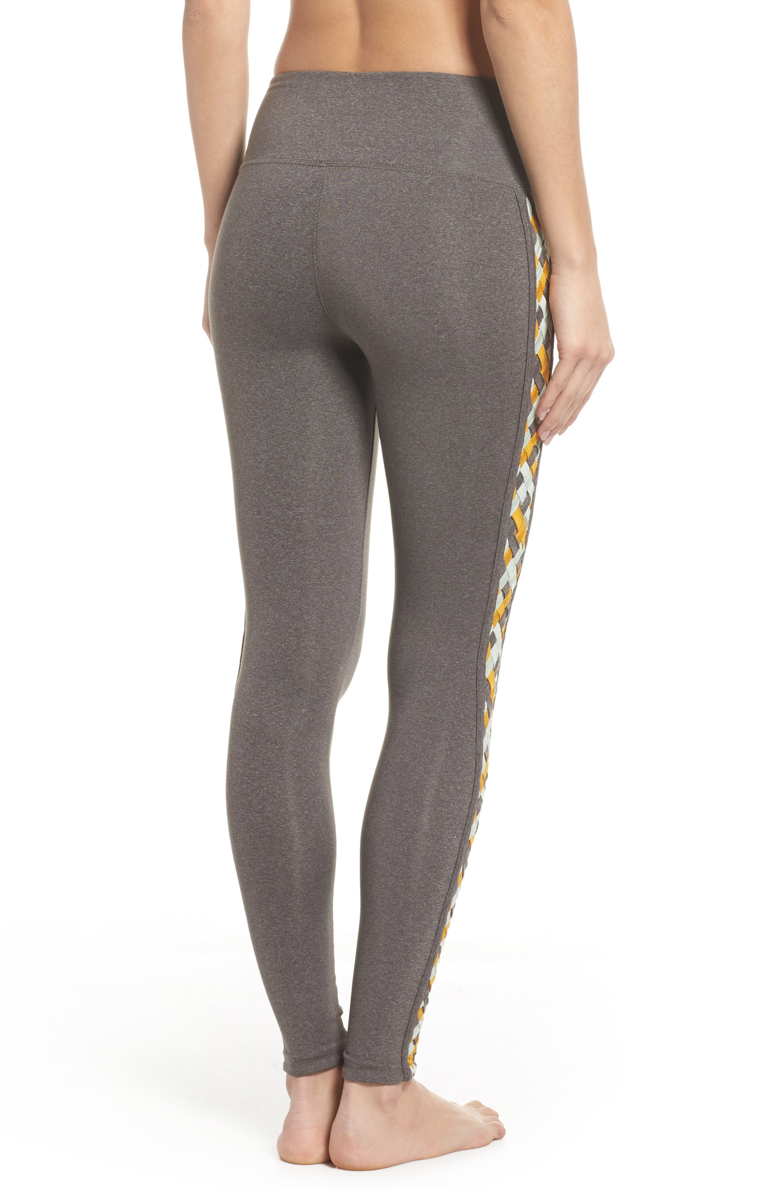 Free People Vision Leggings,                             Alternate thumbnail 2, color,                             Light Grey